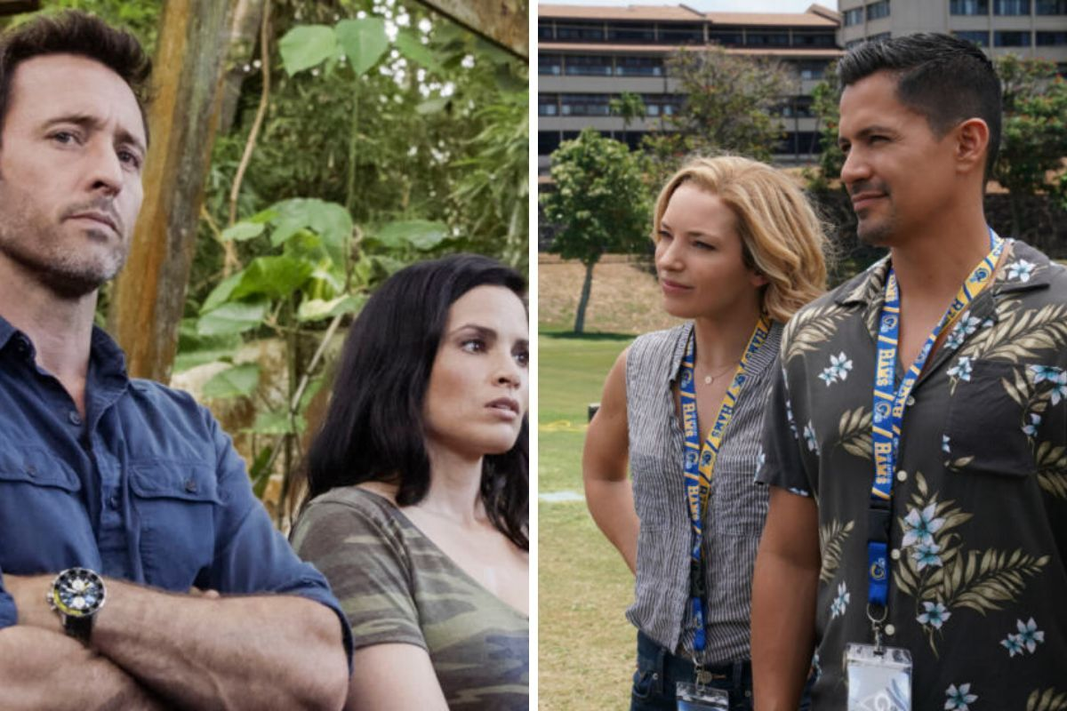 Hawaii Five-0 and Magnum PI crossover has a minor continuity error