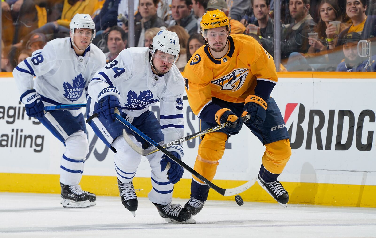 Nashville Predators Come Out of Break Against Toronto Maple Leafs