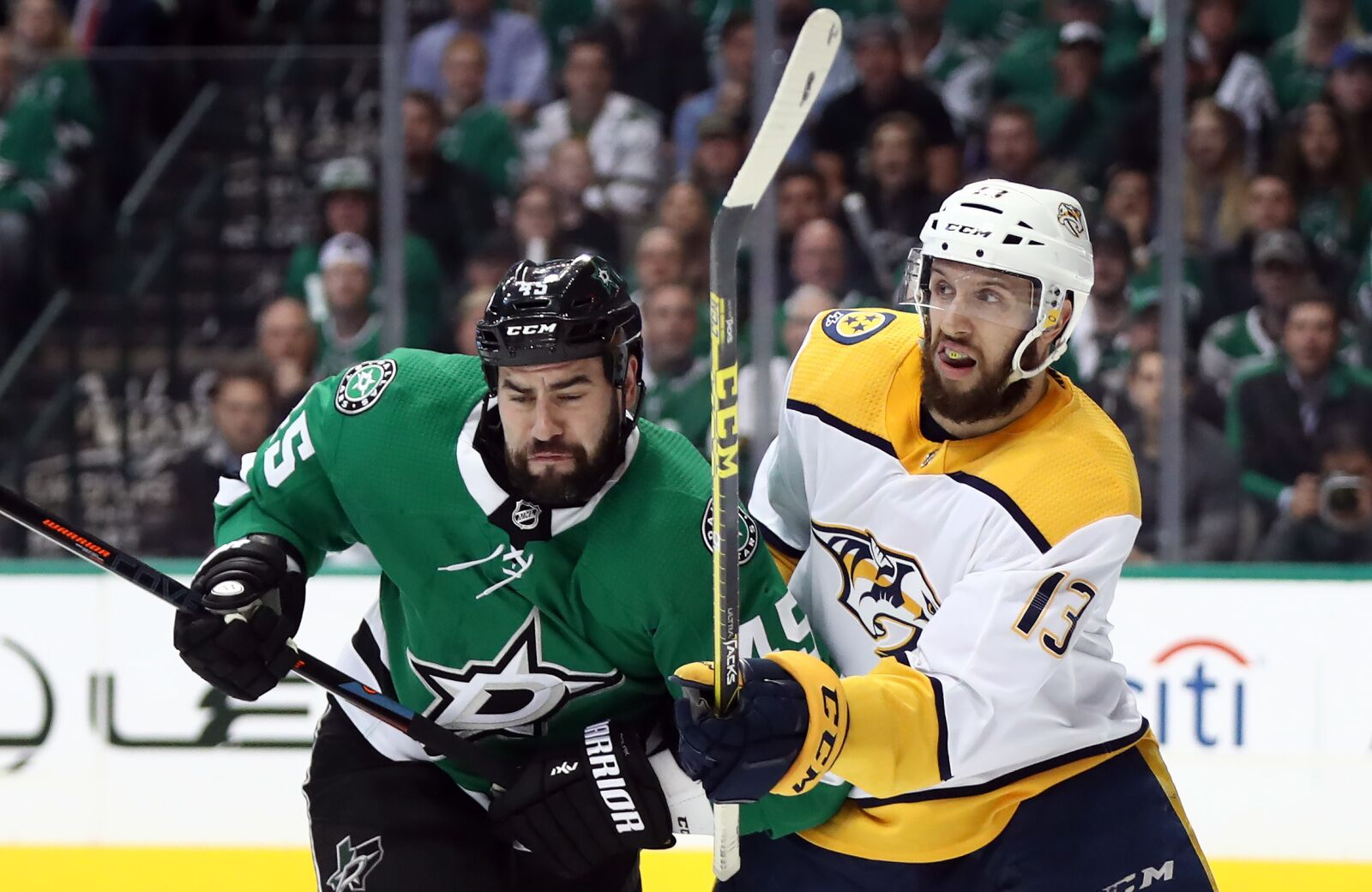 Nashville Predators Clash With Dallas Stars For Winter Classic Preview