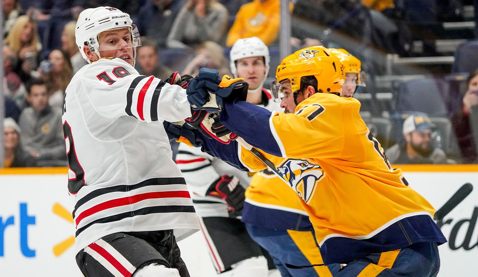 Predators Downward Spiral Continues With Home Loss to Chicago