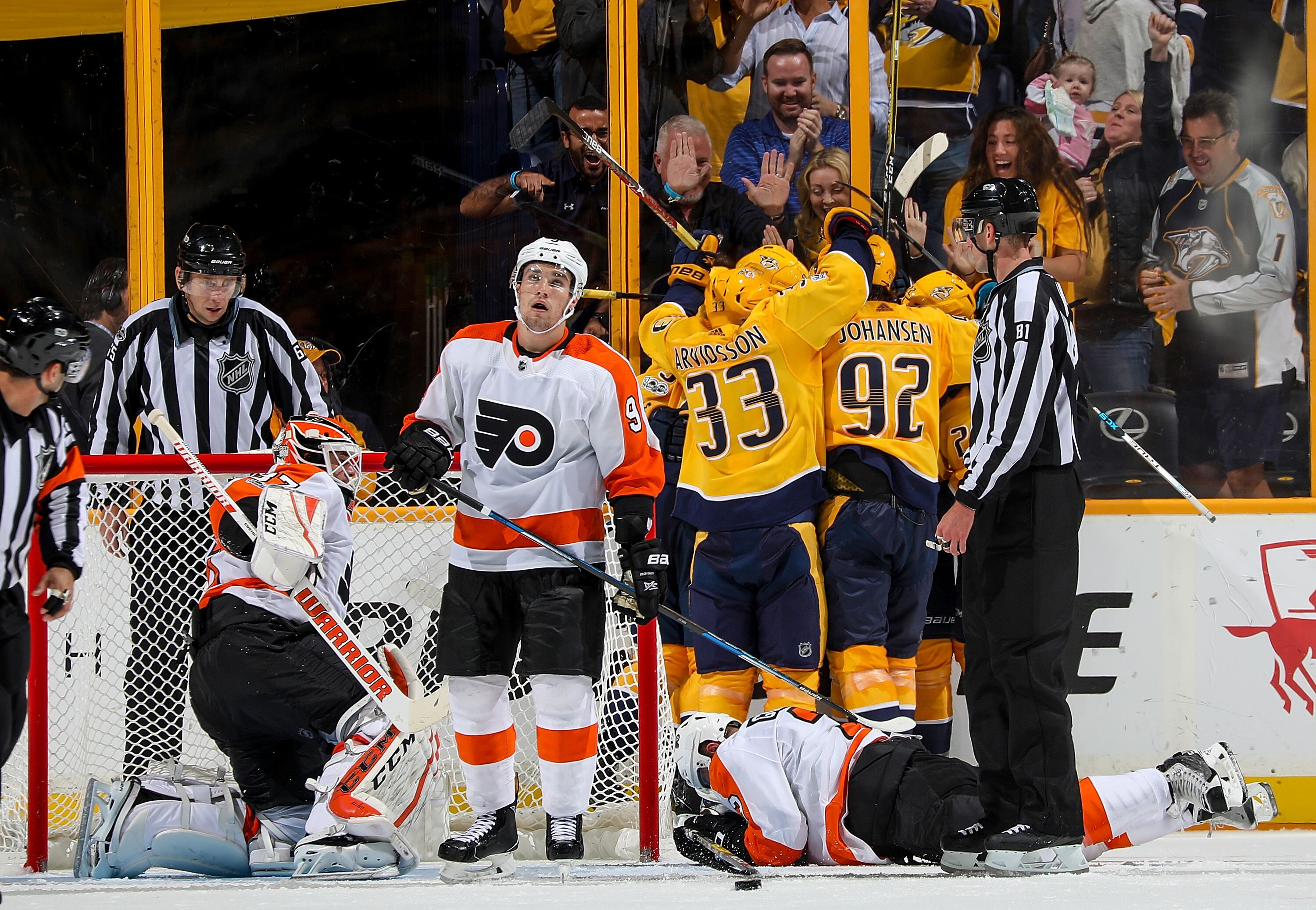 Nashville Predators  Flyers Looking For Revenge In Last Meeting 44415f79ade9