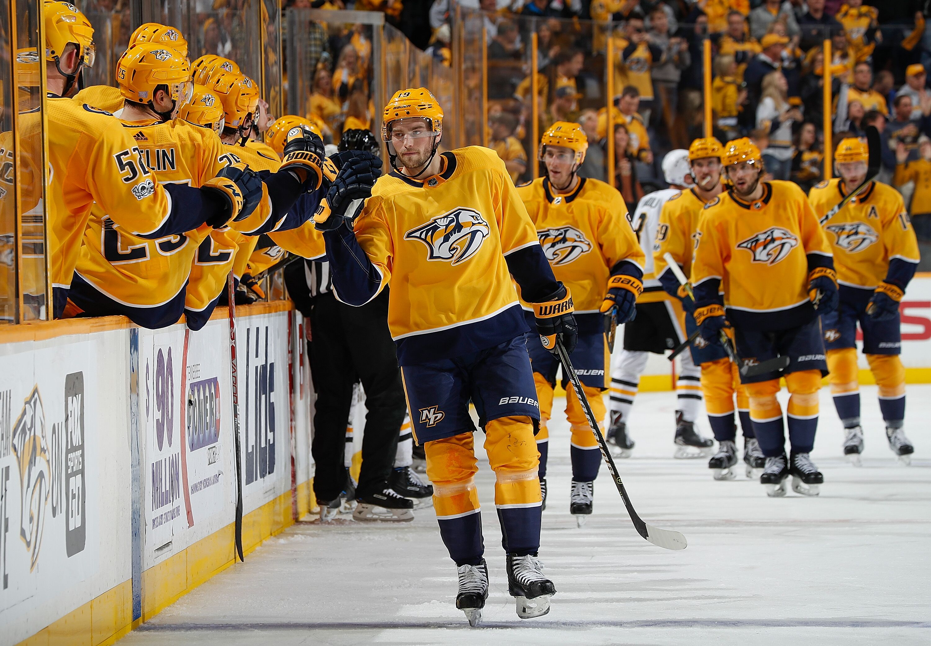 A Four Game Winning Streak Is Nothing To Sneeze At In The Nhl The Nashville Predators Are Riding A Wave Right Now And It Is Pushing In The Power Rankings