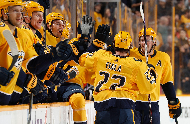 221d901d2b0 Nashville Predators: Kevin Fiala's First Full NHL Season Shows Huge  Potential
