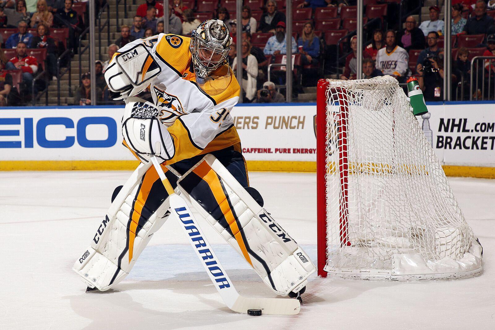 78e35c7a6 Nashville Predators  Pekka Rinne Snubbed on NHL Top Goalies List