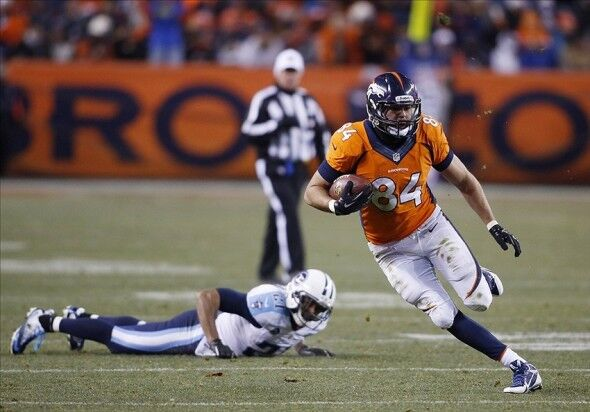 Jacob Tamme One Of The Broncos Unsung Heroes Of 2013