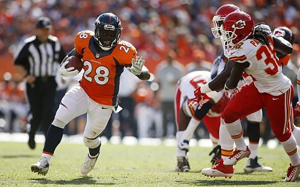 Montee Ball Ready to Reclaim Role in Broncos Offense