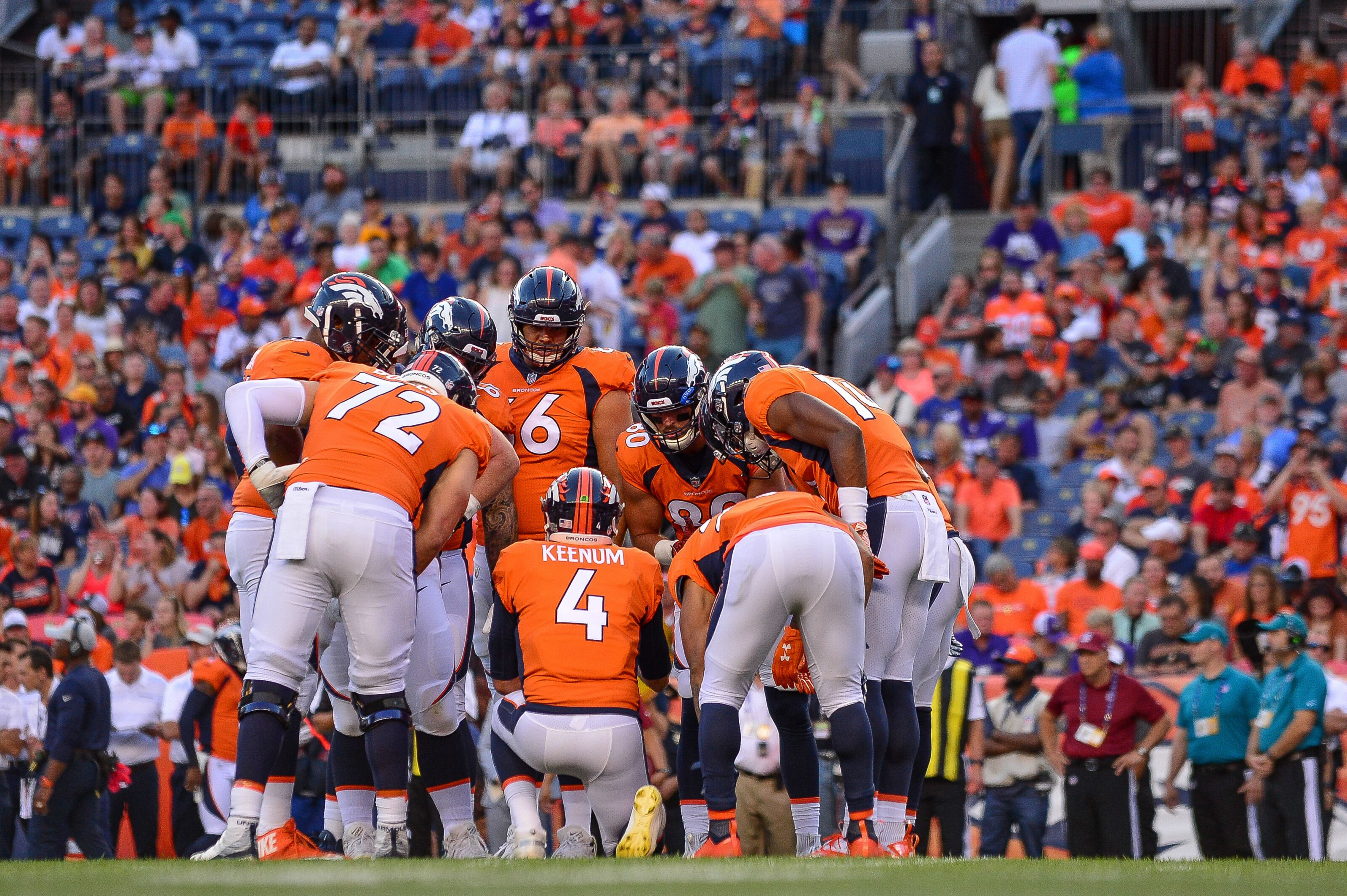 1819fa0ebe4 Denver Broncos host the Chicago Bears as Chad Kelly accedes