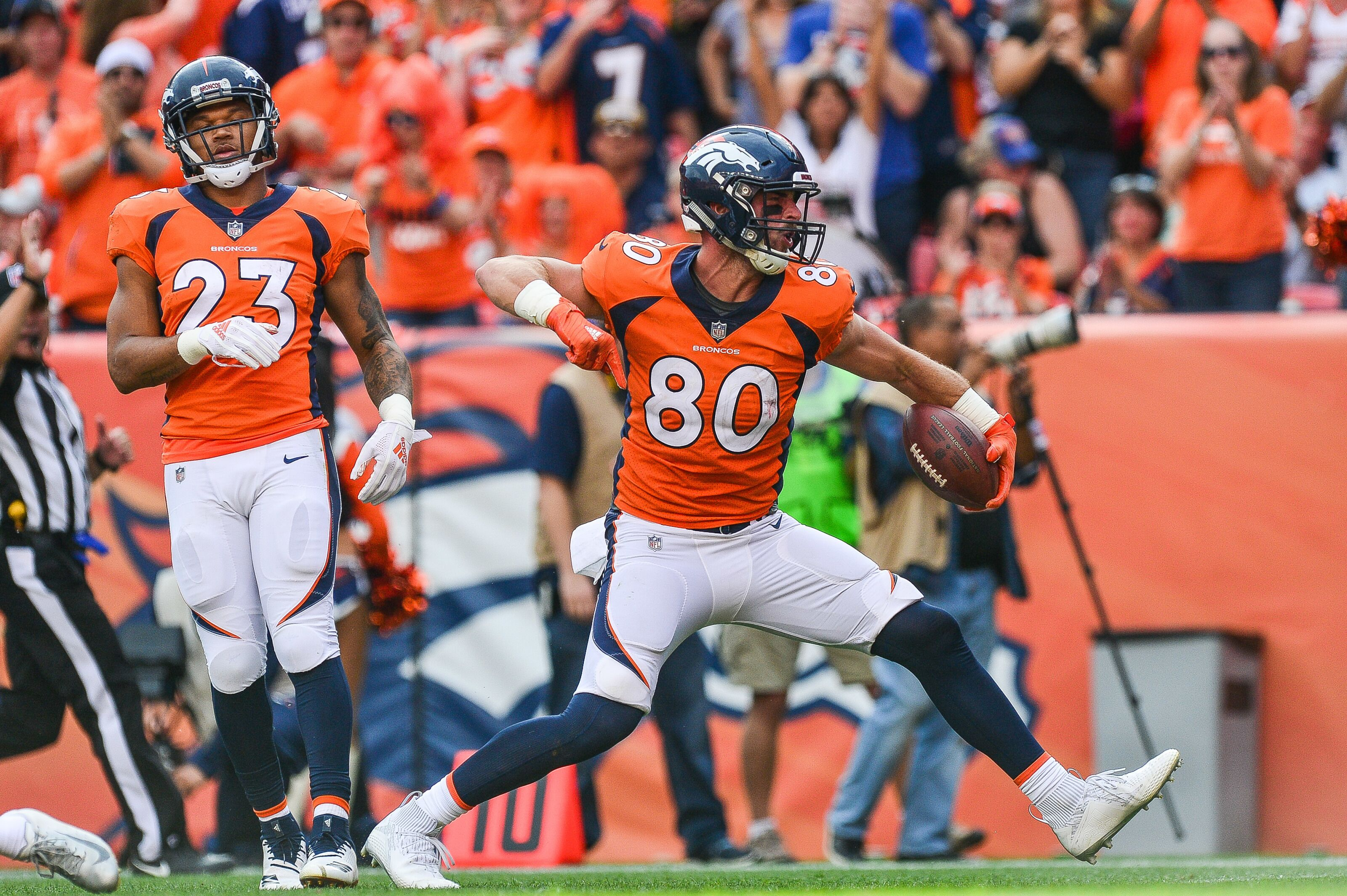 promo code 456e5 dbd1d Is Jake Butt the Denver Broncos' best tight end when healthy?