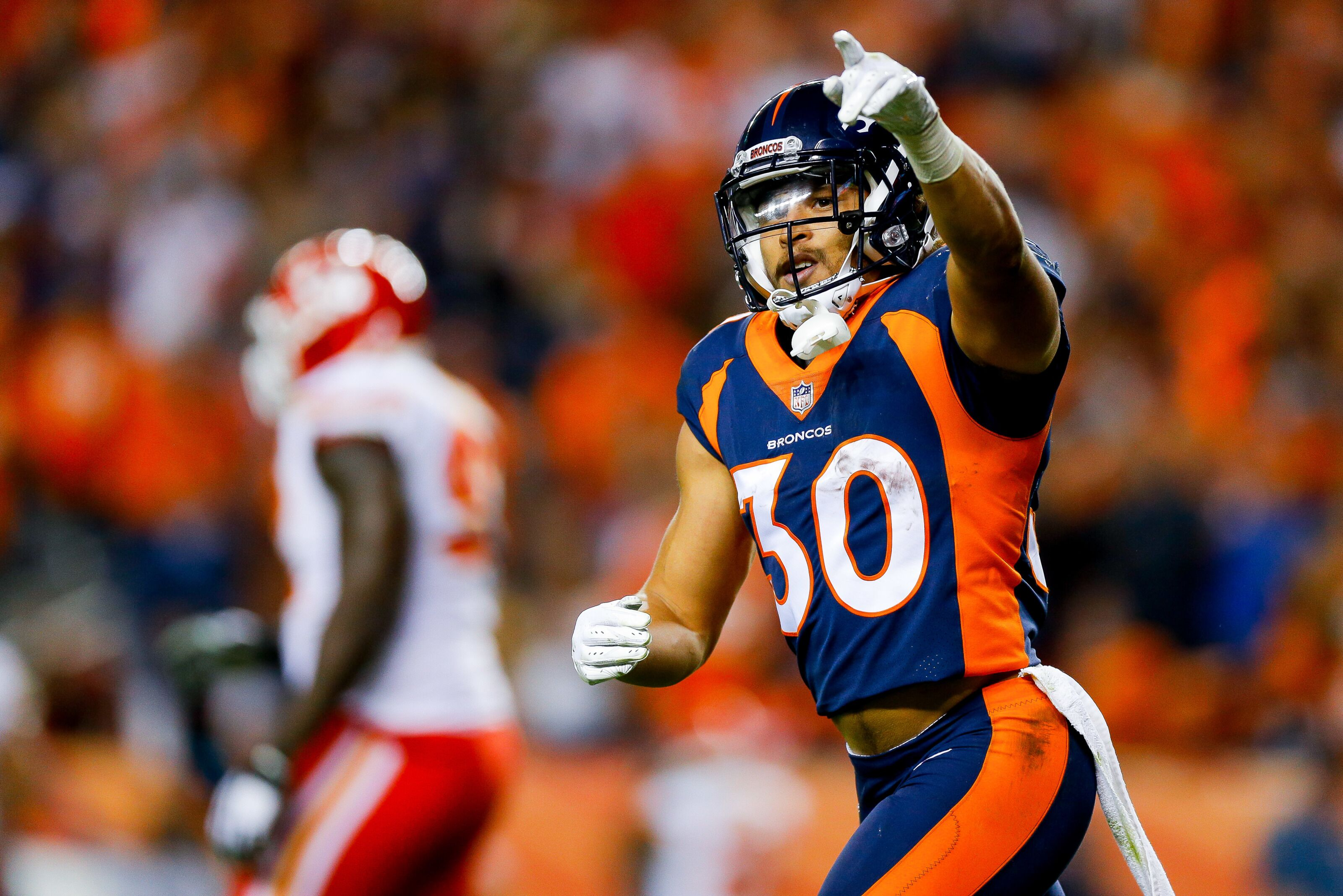 huge selection of 885be 10019 Denver Broncos: Phillip Lindsay in Offensive Rookie of the ...