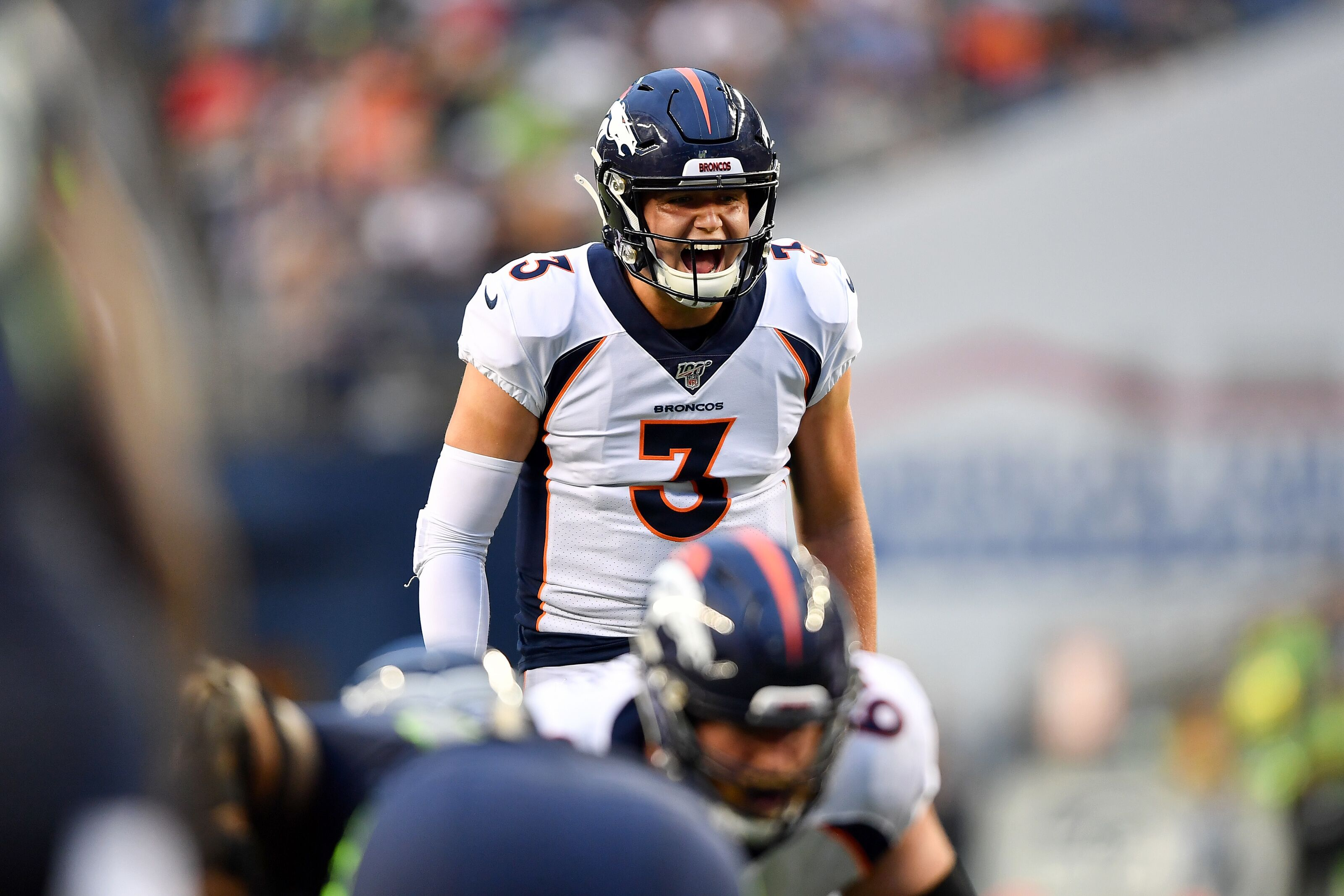 Denver Broncos: Drew Lock quickly making his way to being the backup