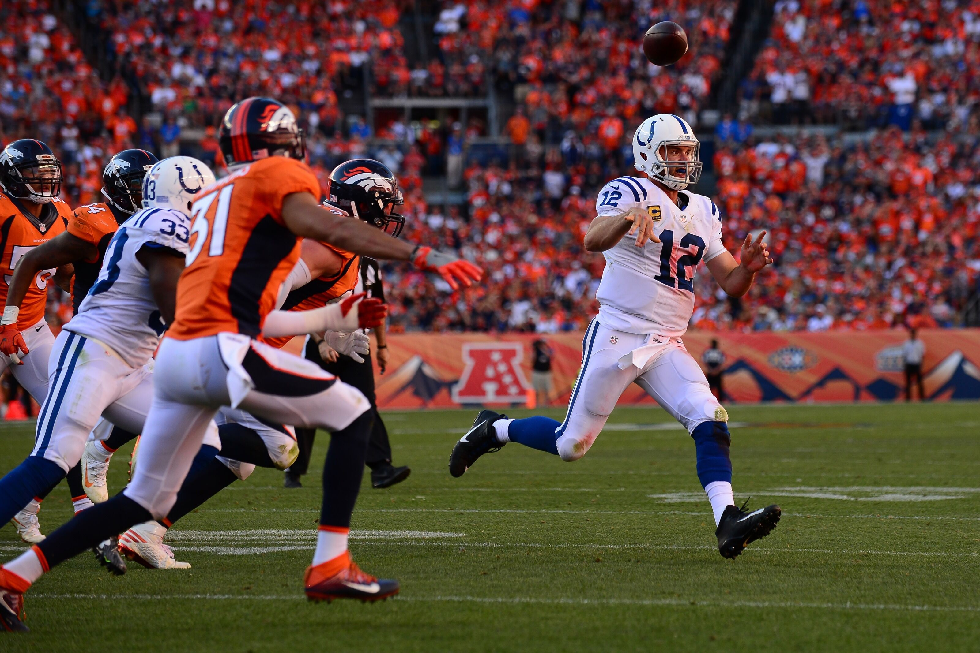 Denver Broncos: Andrew Luck retirement impacts Week Eight
