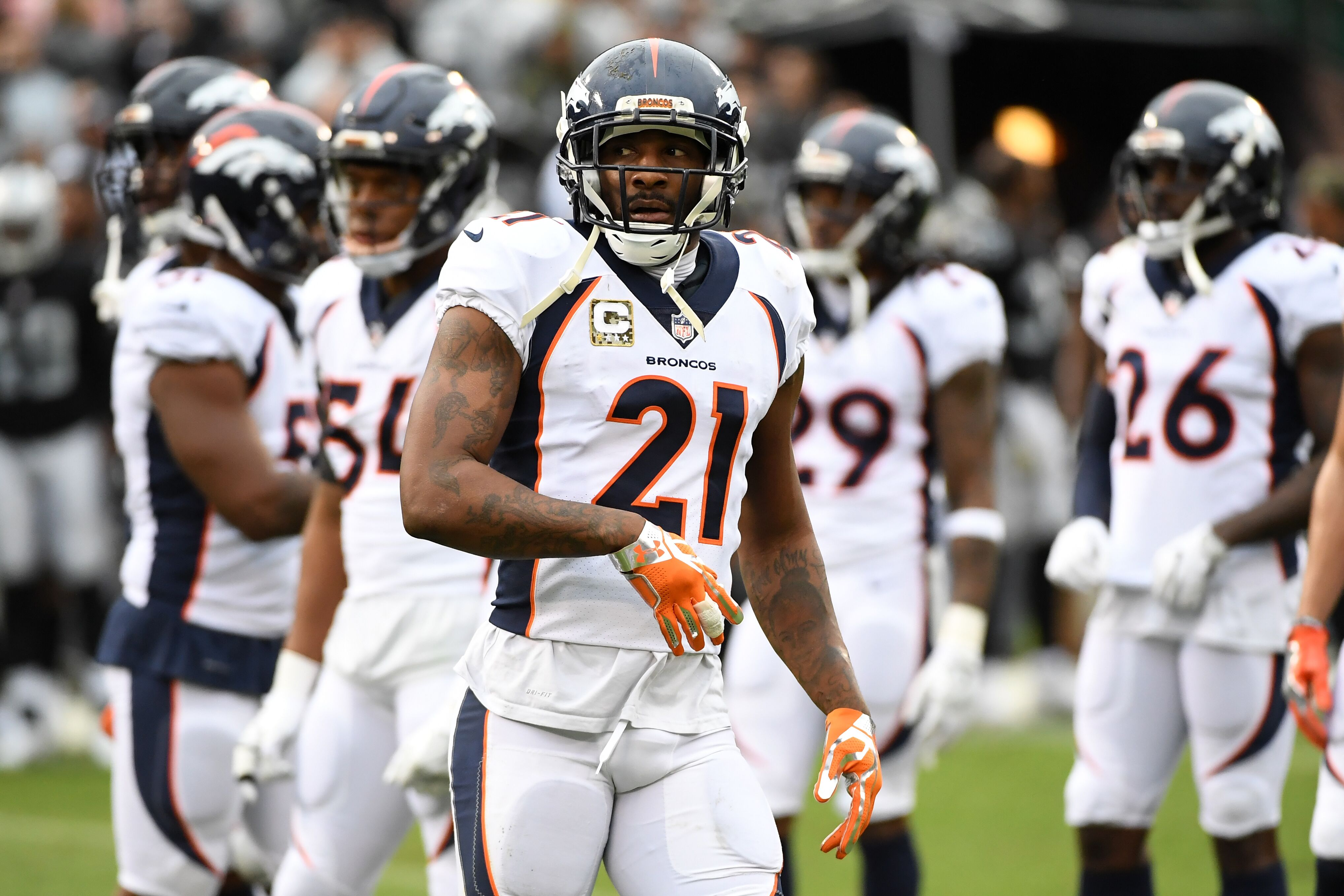 Los Angeles Rams  Aqib Talib a target after Robert Quinn trade  fcaa14587