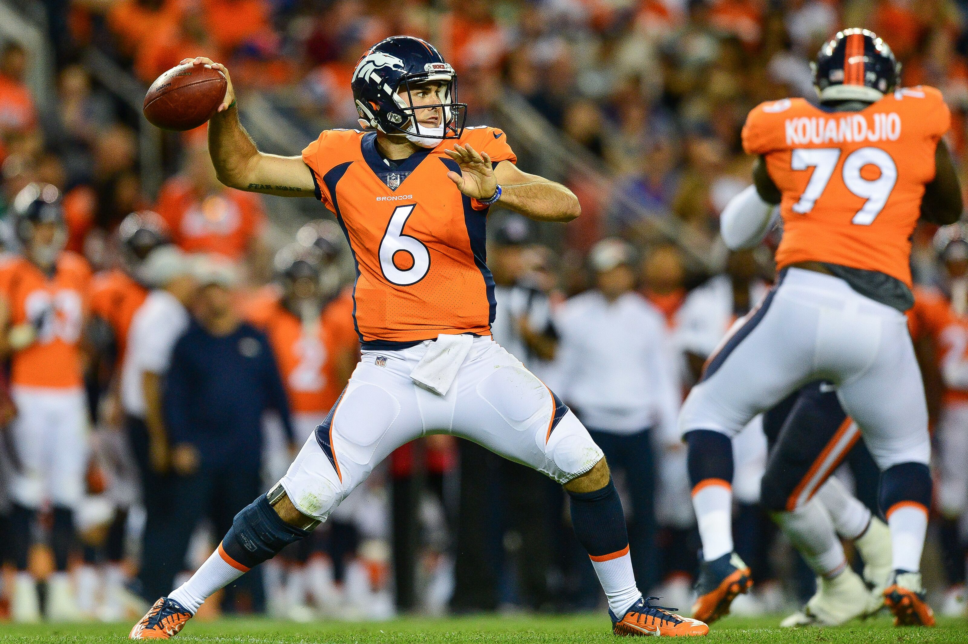 76c9d938bff Denver Broncos: Could Chad Kelly be Case Keenum's full-time backup?