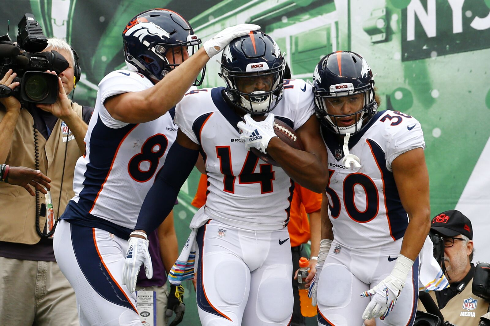How Courtland Sutton takes a huge leap in his second season