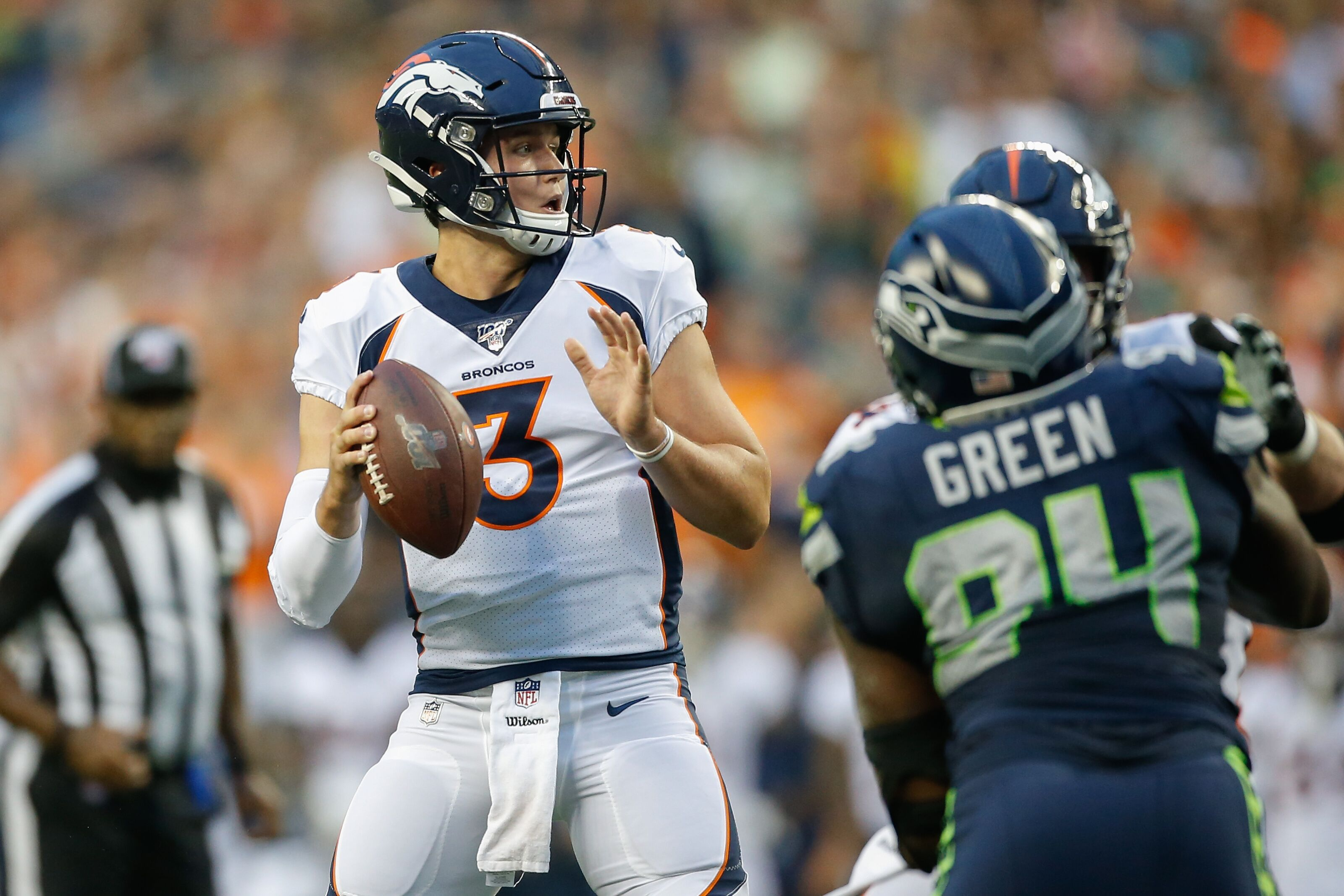 Denver Broncos adjusting practices to get Drew Lock more reps