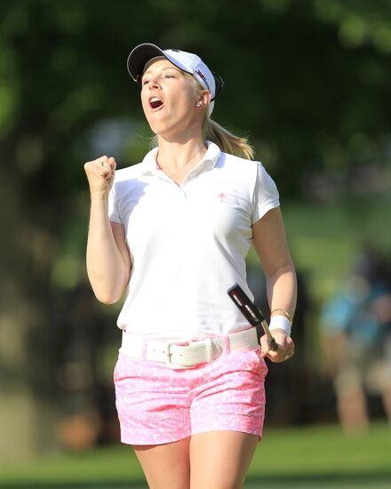 Morgan Pressel's Very Good Day At The Kia Classic