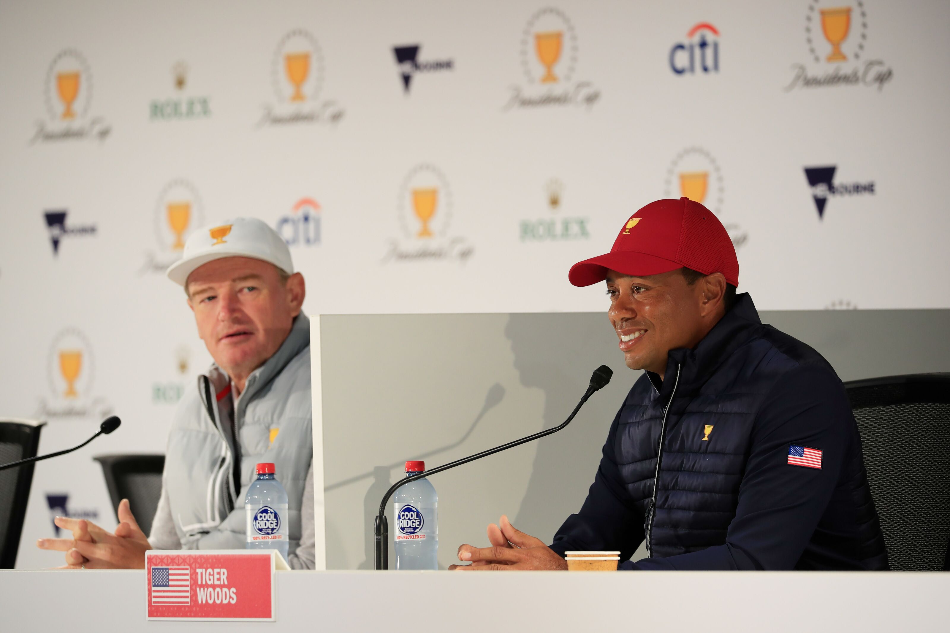 Presidents Cup: Will Ernie Els finish second to Tiger Woods once again?