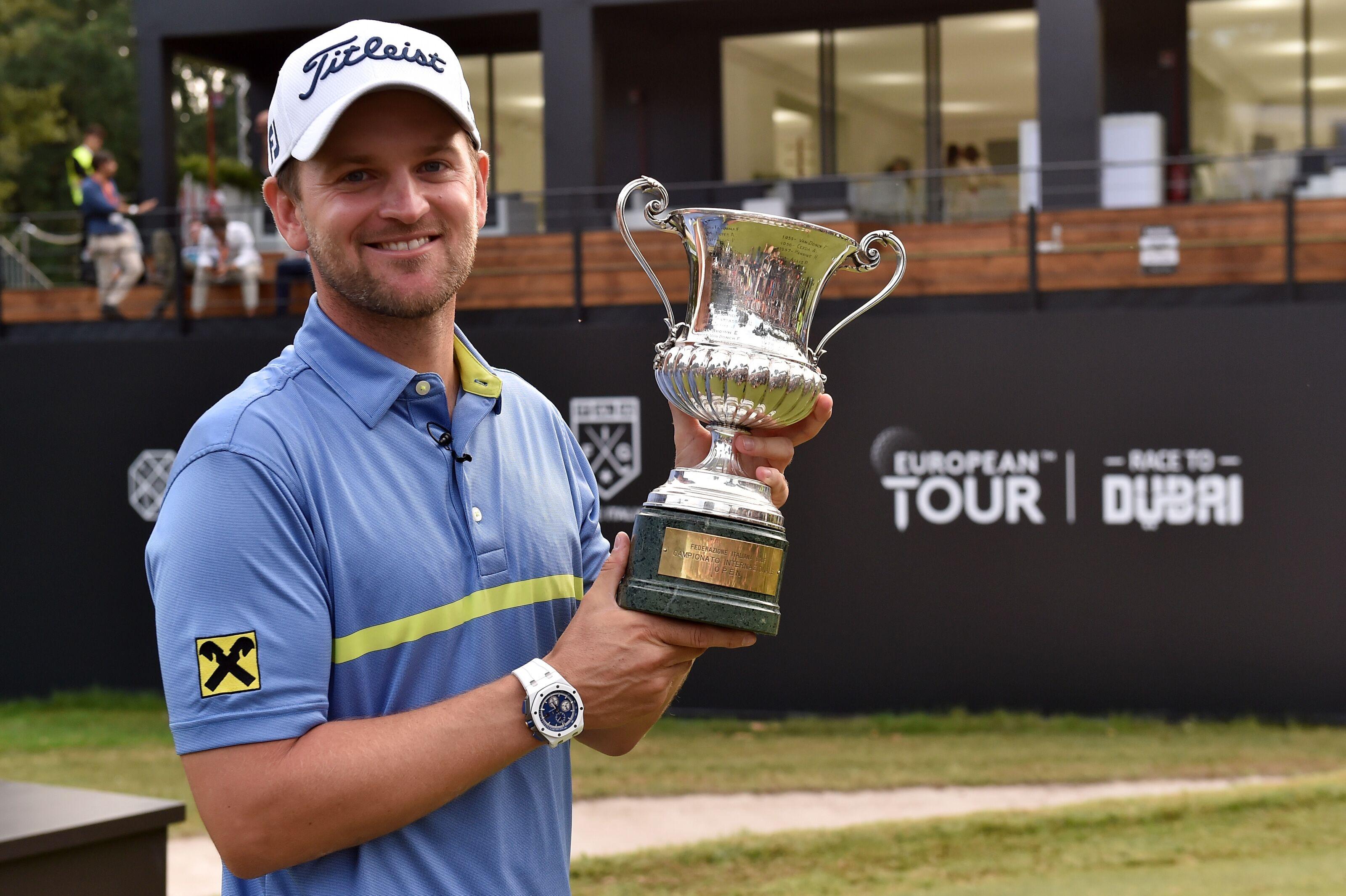 Bernd Wiesberger Wins Second Rolex Series Title of 2019 At Italian Open