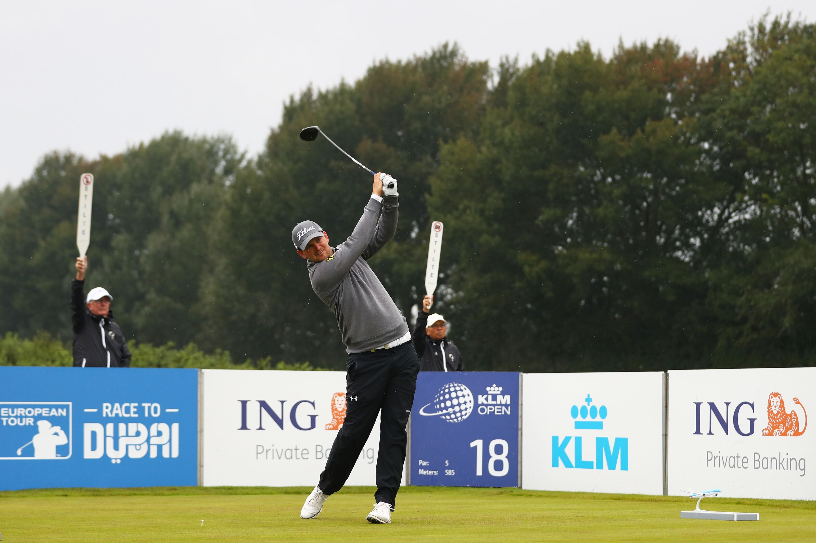 Wiesberger Ties Lead At Halfway Point of Scottish Open With Record 61