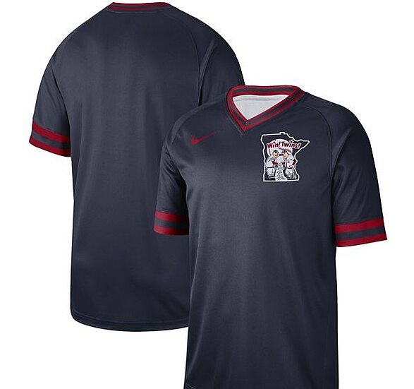634bc5c85da Minnesota Twins Nike Authentic Team-Issue Performance T-Shirt