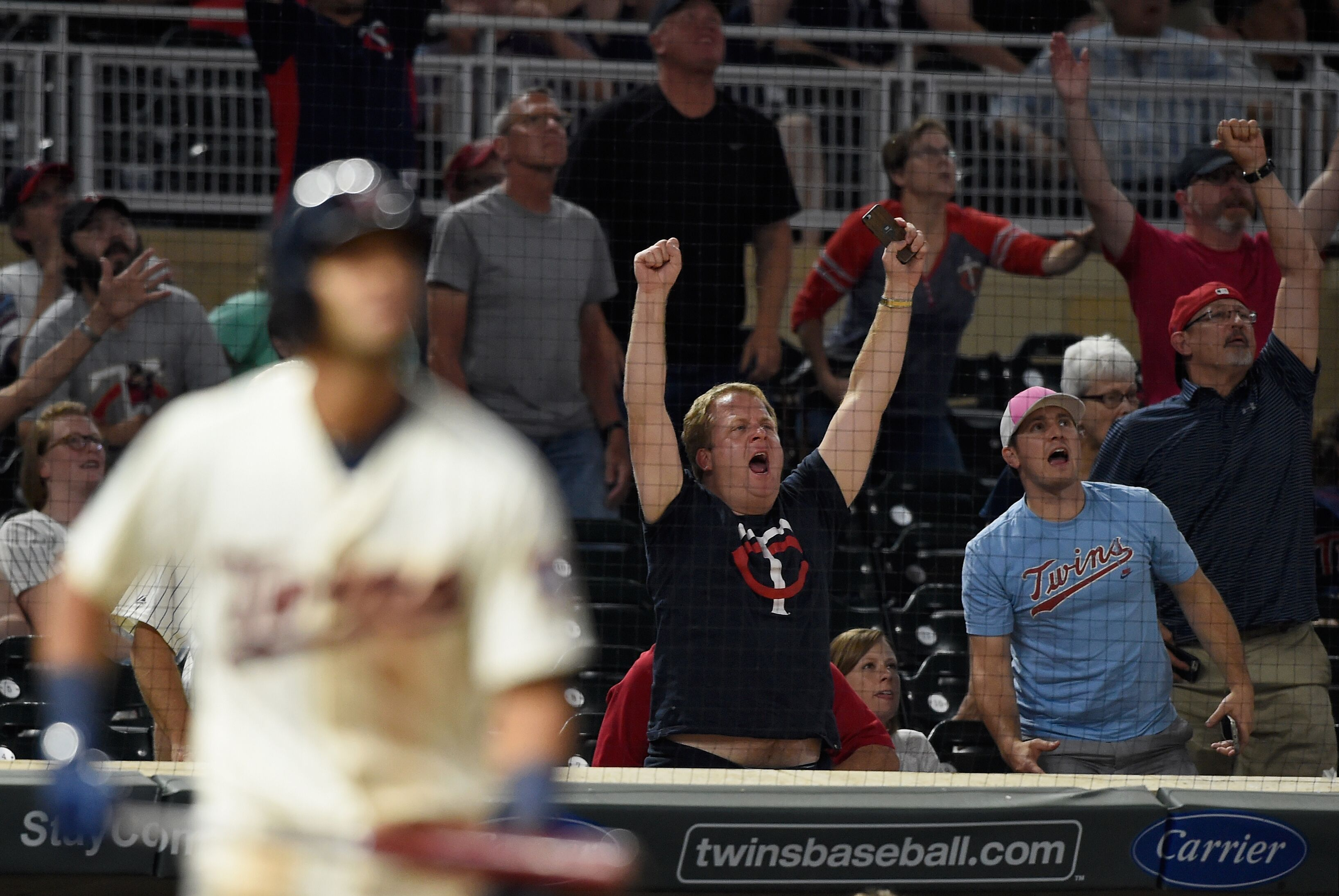 Minnesota Twins What A Difference A Year Makes For Twins Fans