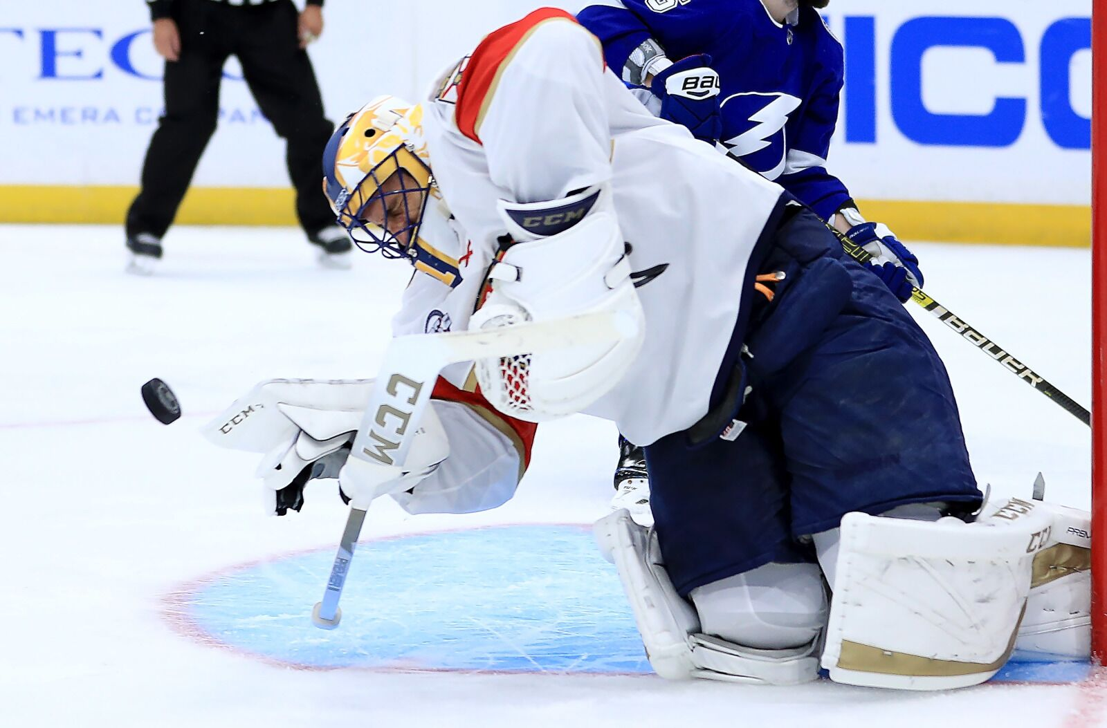 Florida Panthers Place Goaltender Roberto Luongo On Injured Reserve