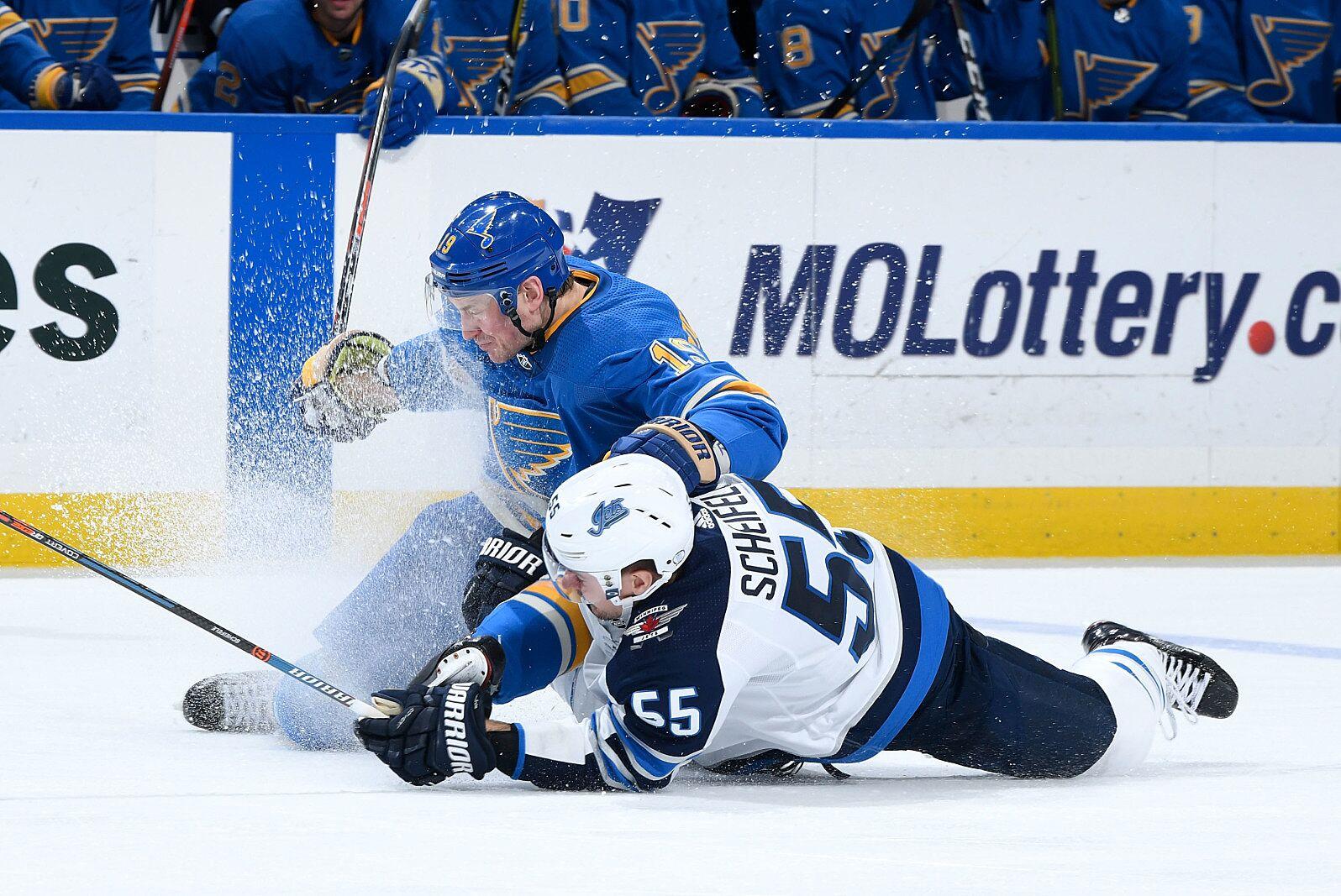 best service a7db3 04e28 Stanley Cup Playoffs: Winnipeg Jets vs. St. Louis Blues ...