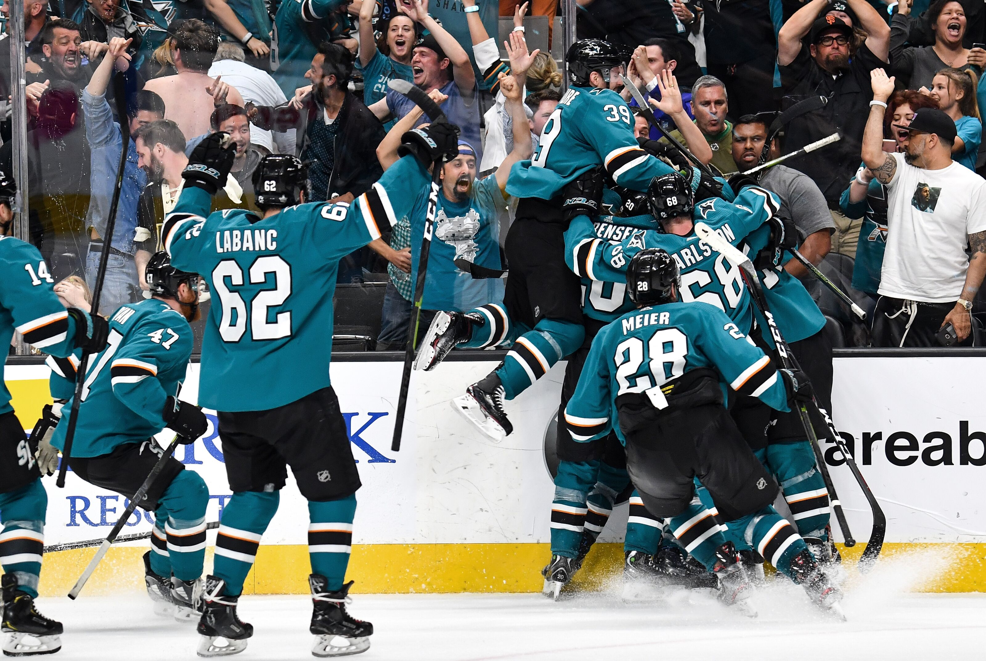 b02f57605fb Don't blame referees for San Jose Sharks beating Vegas Golden Knights