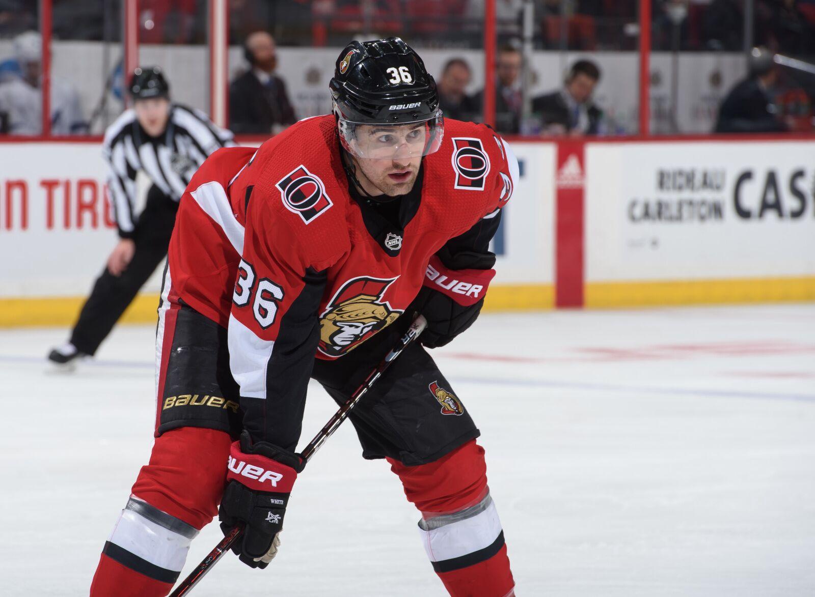 Ottawa Senators sign young forward Colin White to six-year deal