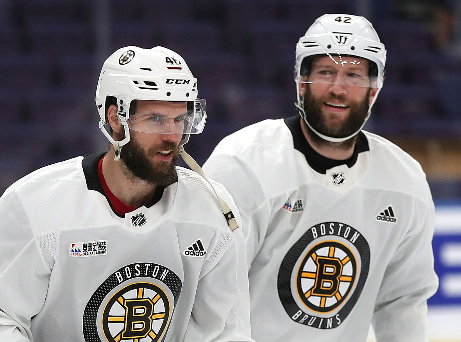 Boston Bruins place veteran forward David Backes on waivers