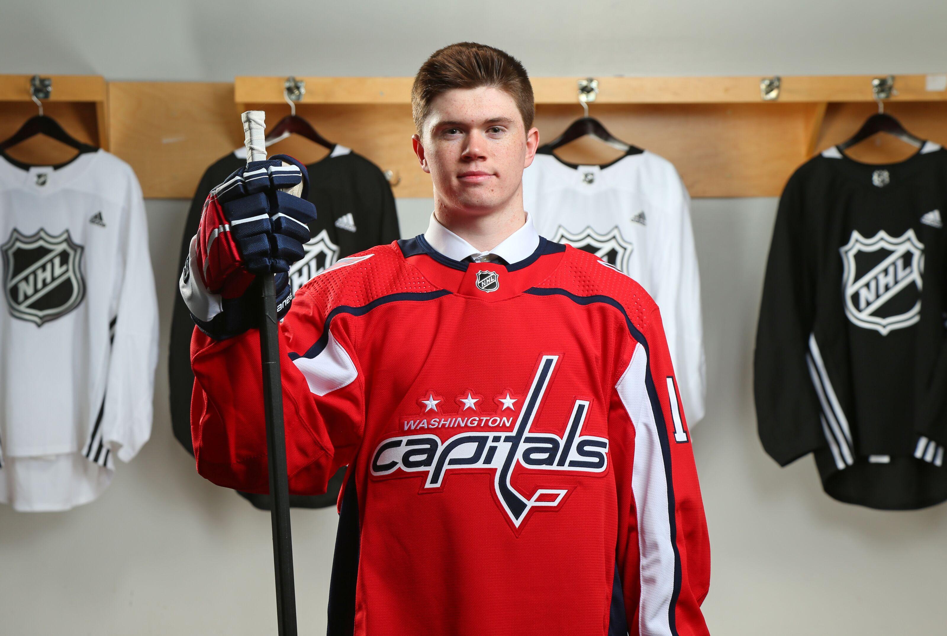 4563ecda Washington Capitals drafted a gem in Connor McMichael