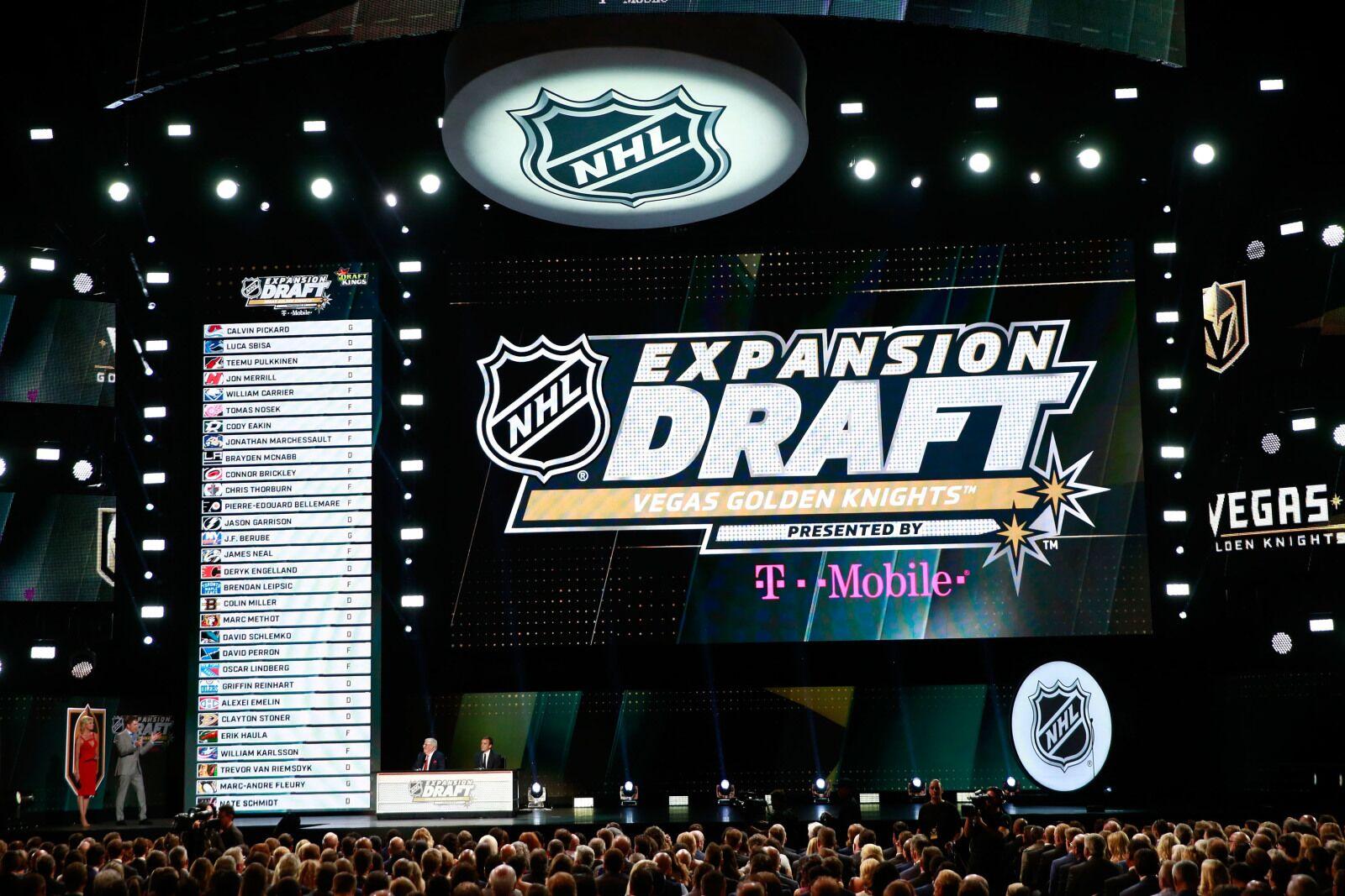 nhl draft ranking each team s expansion decision