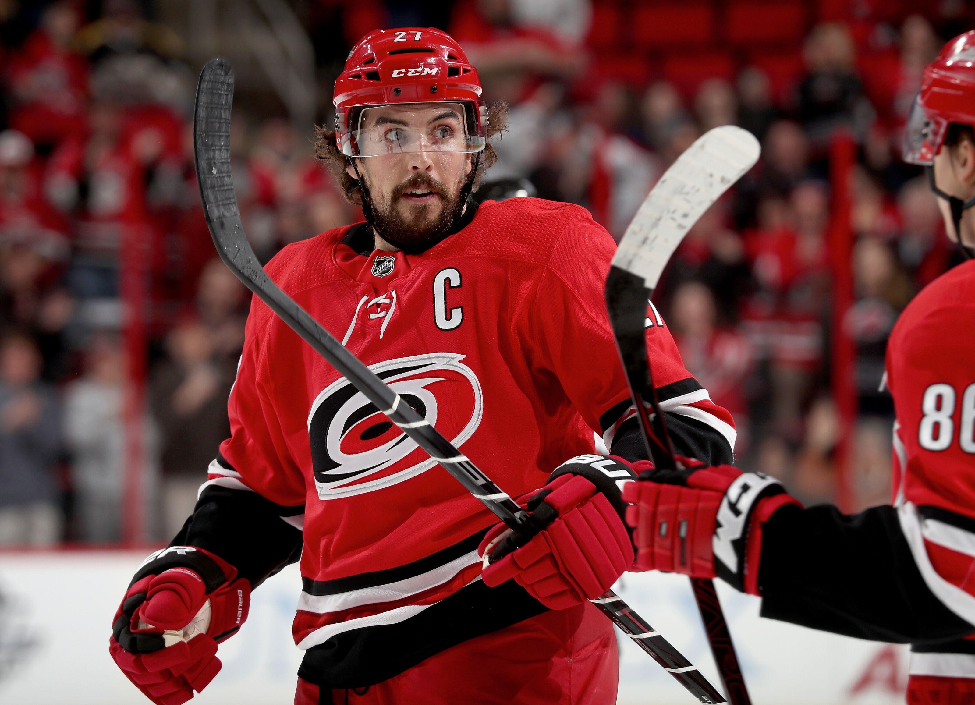 24f2bef50 NHL Trade Rumors: 5 best fits for Carolina Hurricanes Justin Faulk - Page 3