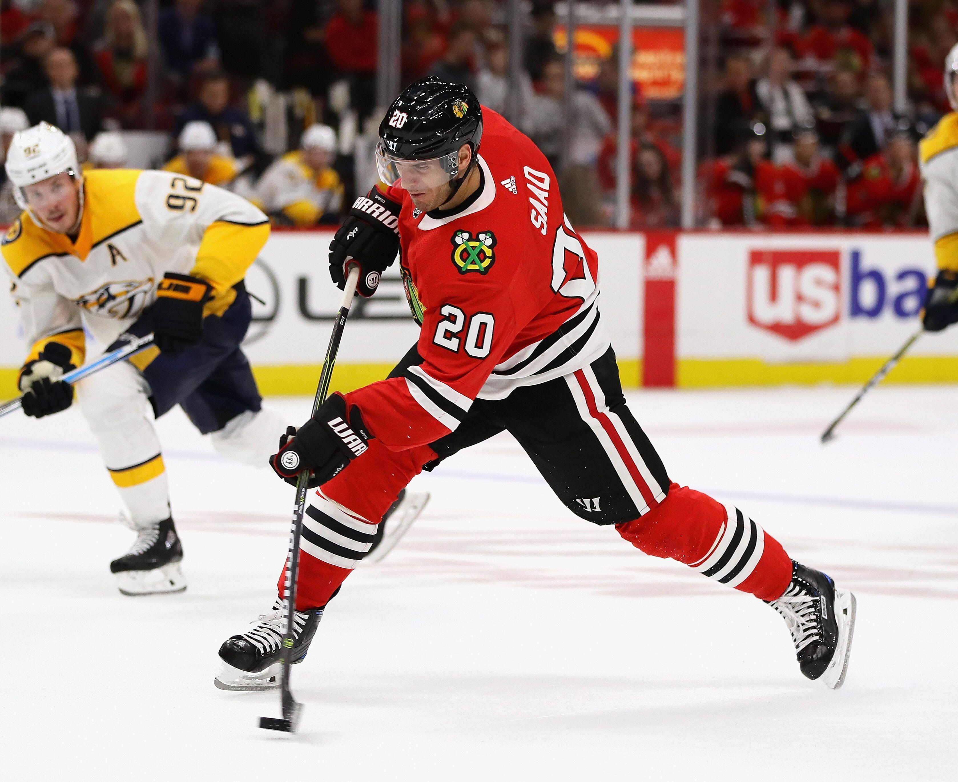 blackhawks nhl schedule chicago weekly blues games power national hockey televised week network rankings getty predators nashville destroyer kiss years