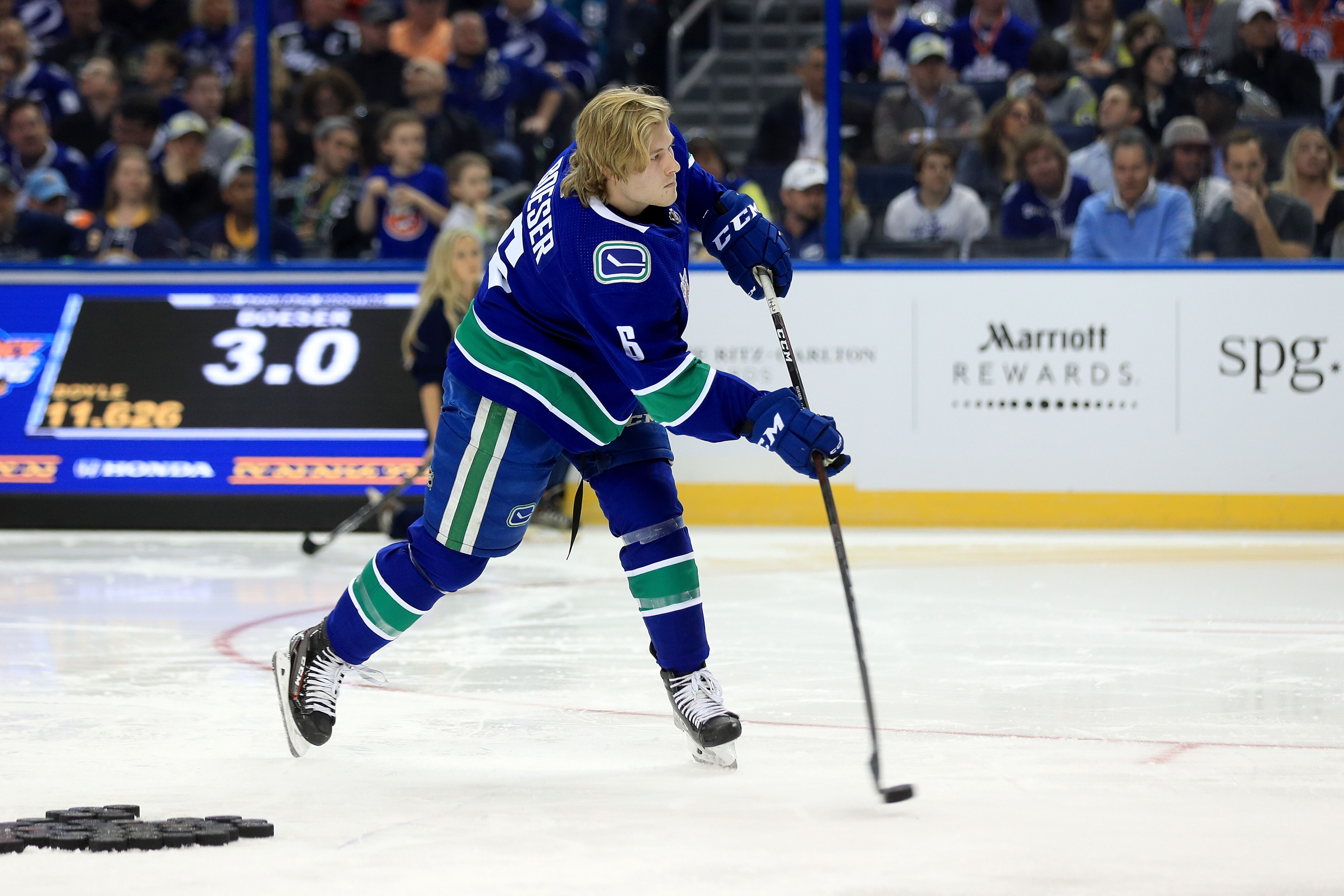 c05736a40 Vancouver Canucks: Brock Boeser Wins 2018 NHL All-Star Game MVP