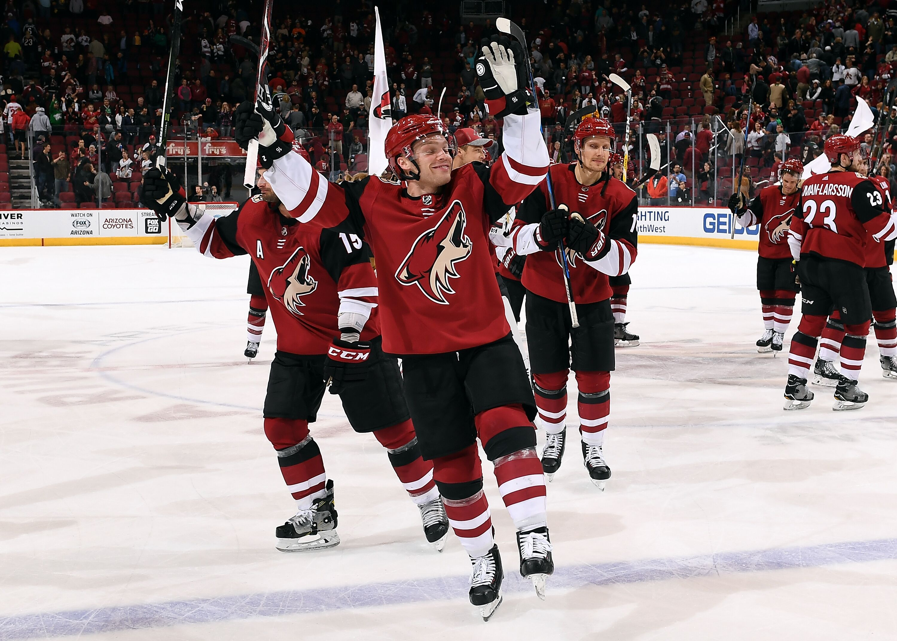 are the arizona coyotes ready to be contenders?