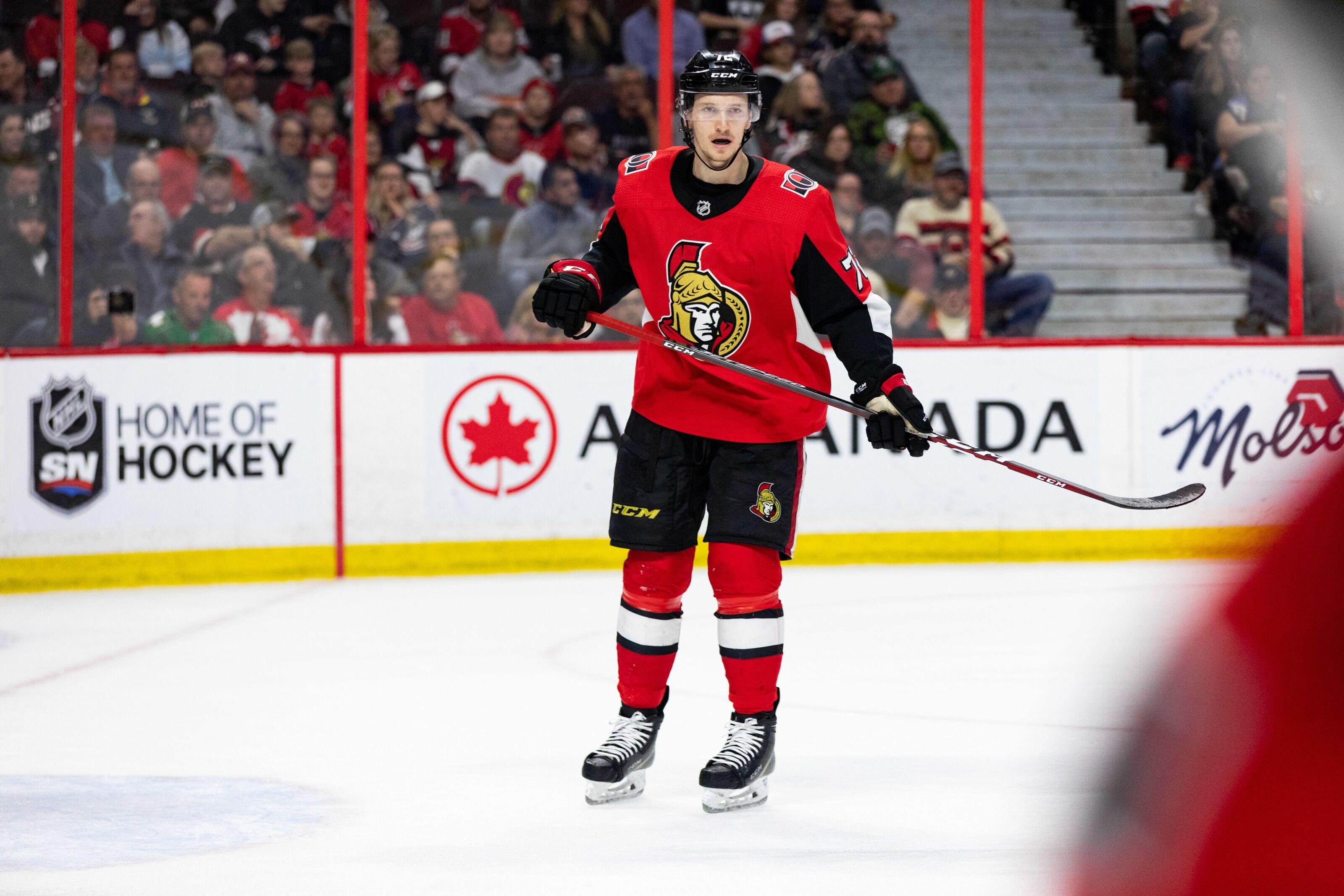 NHL rumors: Ottawa Senators working on extension with Thomas Chabot