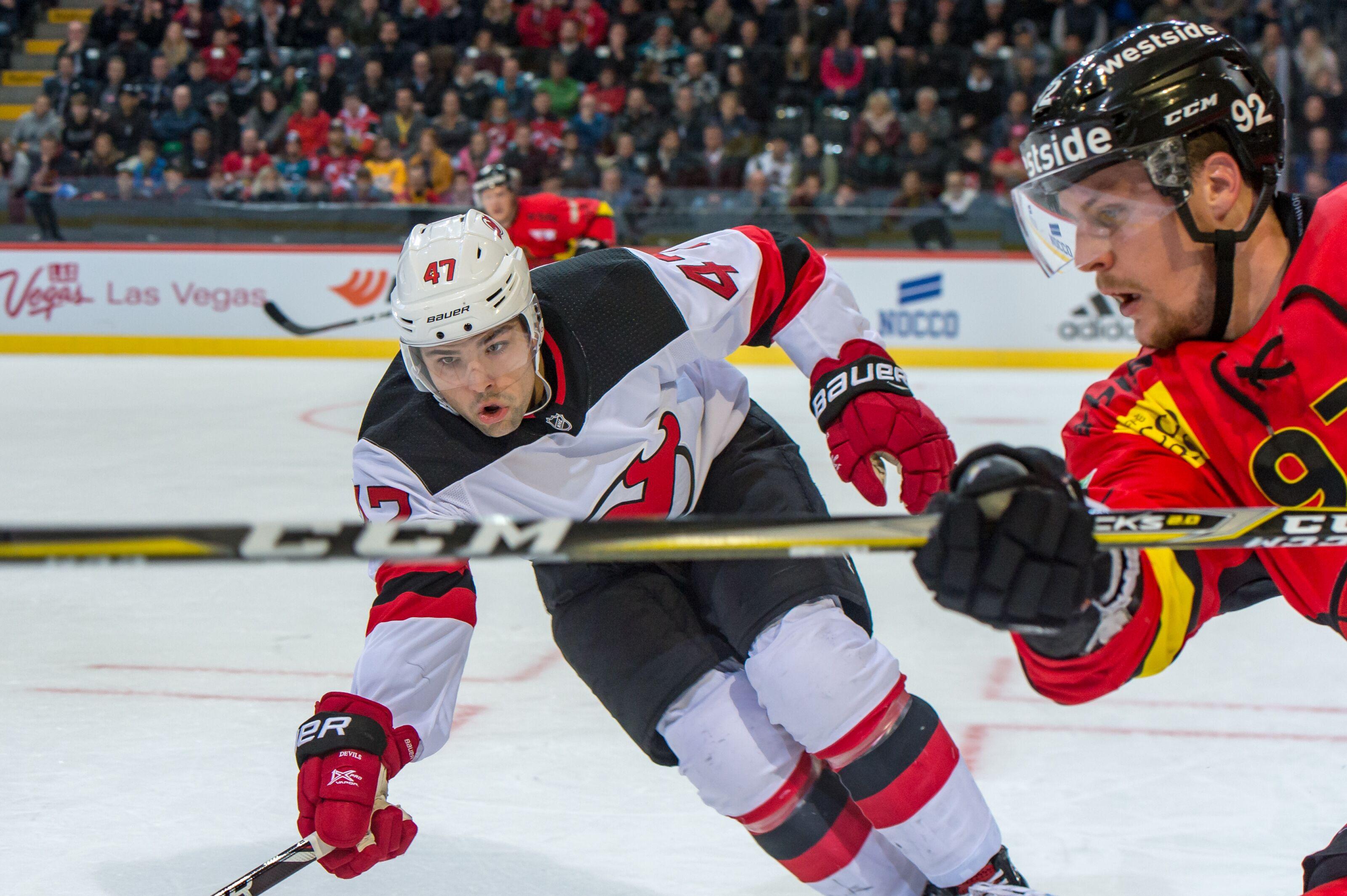 0b08e6d27 New Jersey Devils  John Quenneville Deserves Spot On Roster
