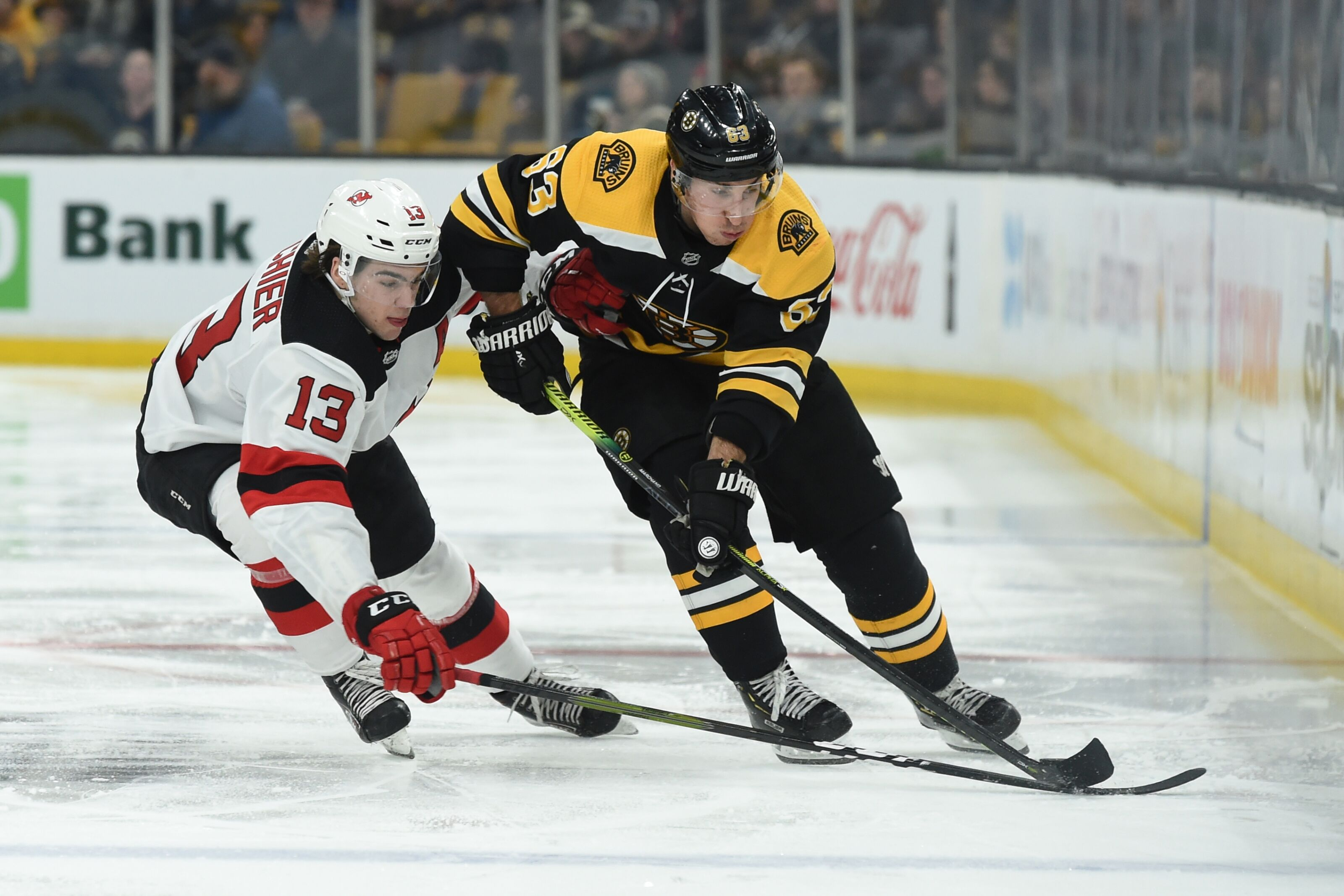 New Jersey Devils: Boston Bruins Top Line Is Main Priority