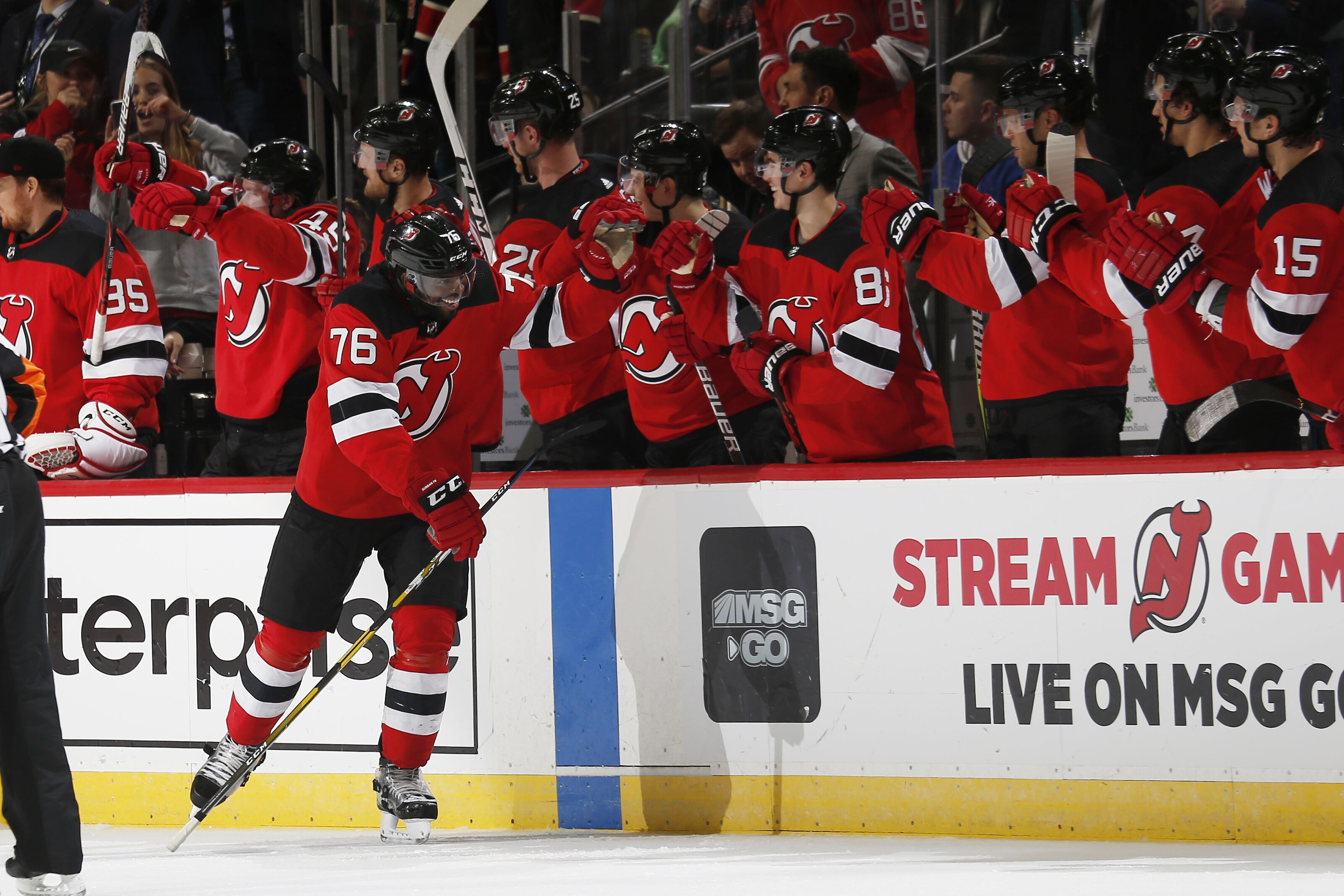 New Jersey Devils Ride Team Effort In Beating New York Rangers