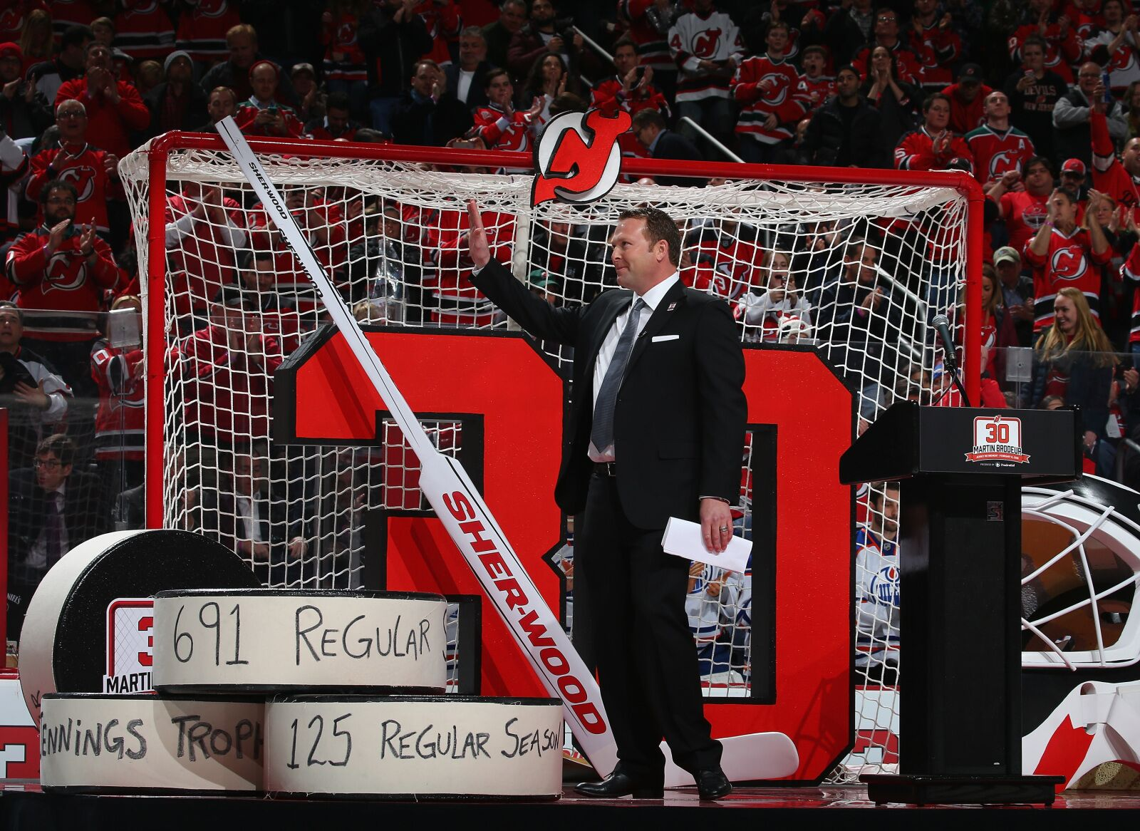 Martin Brodeur Becomes Greatest New Jersey Devils Hall Of Famer