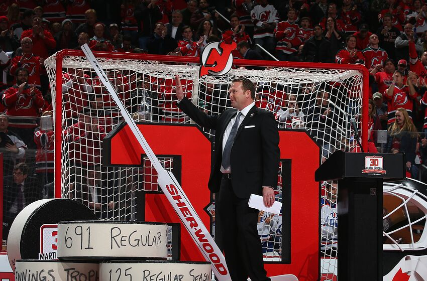 New Jersey Devils Martin Brodeur Is Back