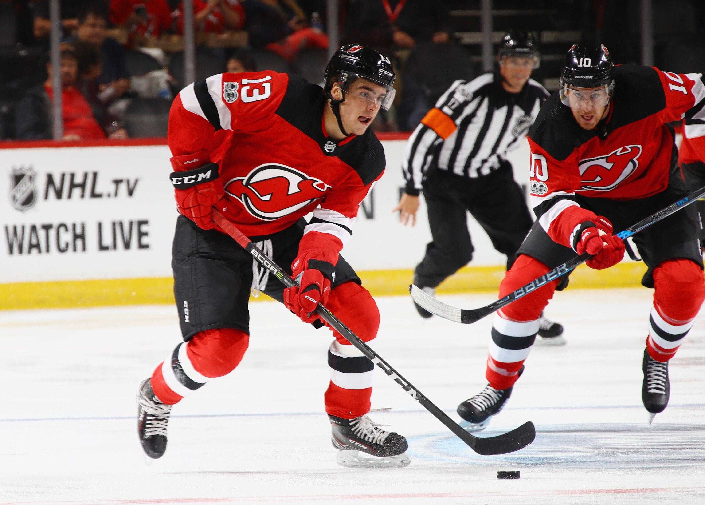 best service 53aeb 952ad New Jersey Devils: Nico Hischier Shows Skill In Win VS ...