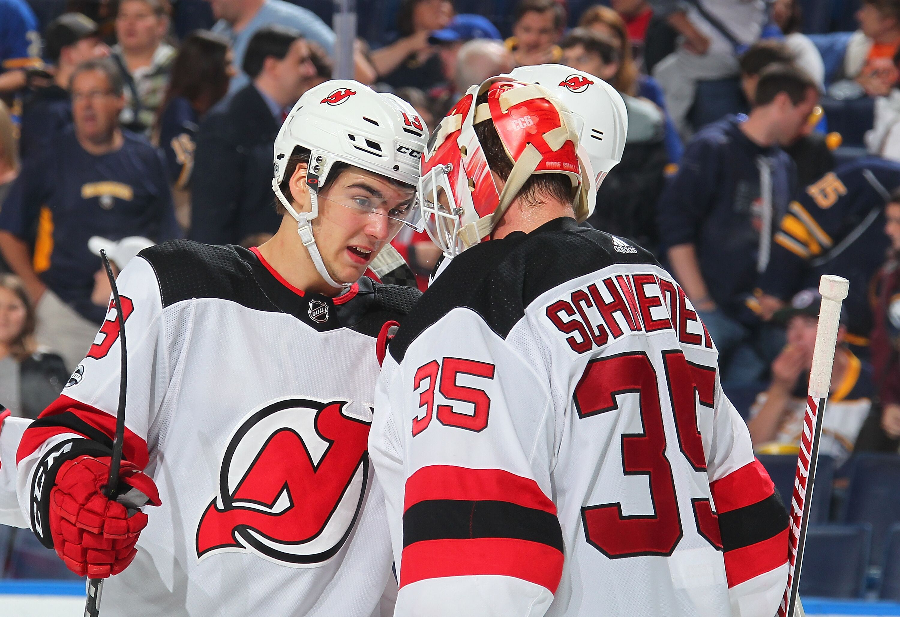 brand new 613d0 b92b1 New Jersey Devils Face Major Test Against Maple Leafs