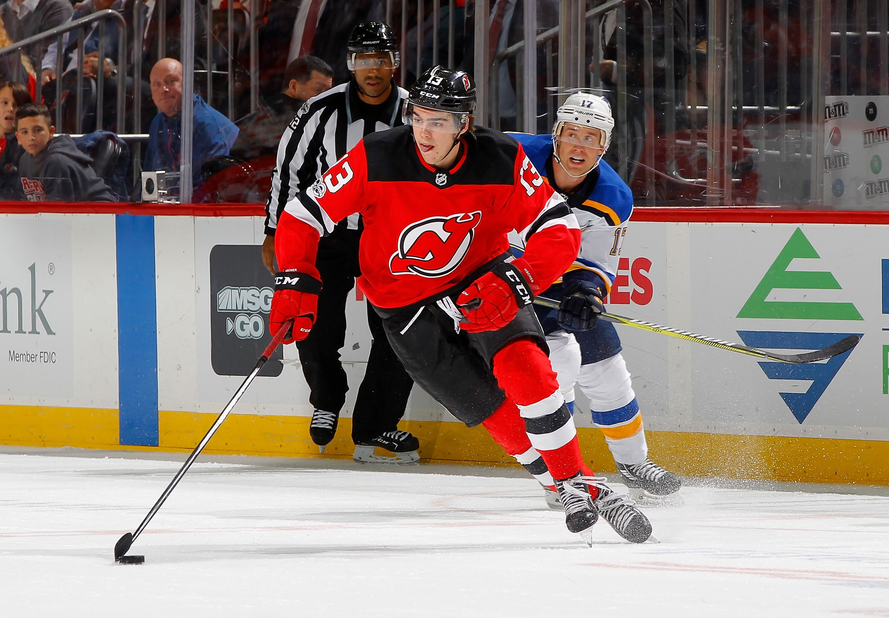 innovative design 5df4d bf710 New Jersey Devils: Nico Hischier Needs To Shoot The Puck