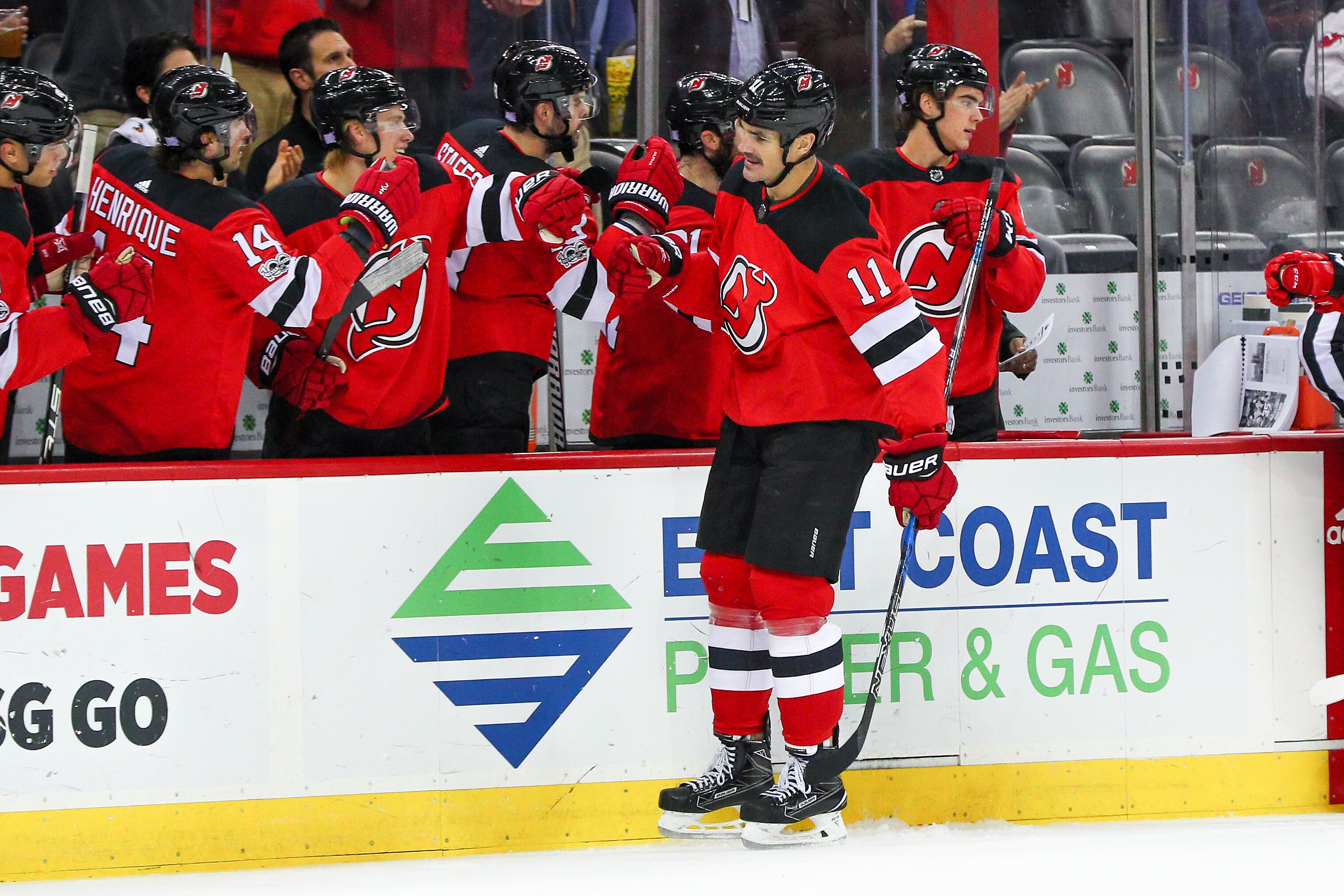 the best attitude 1ba3d f0f41 New Jersey Devils Daily: Boyle's Big Goal, Loss To Oilers, More
