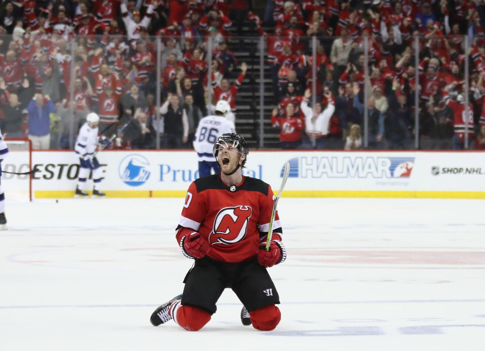 reputable site 6fce0 20082 New Jersey Devils: Analyzing Blake Coleman's Worth