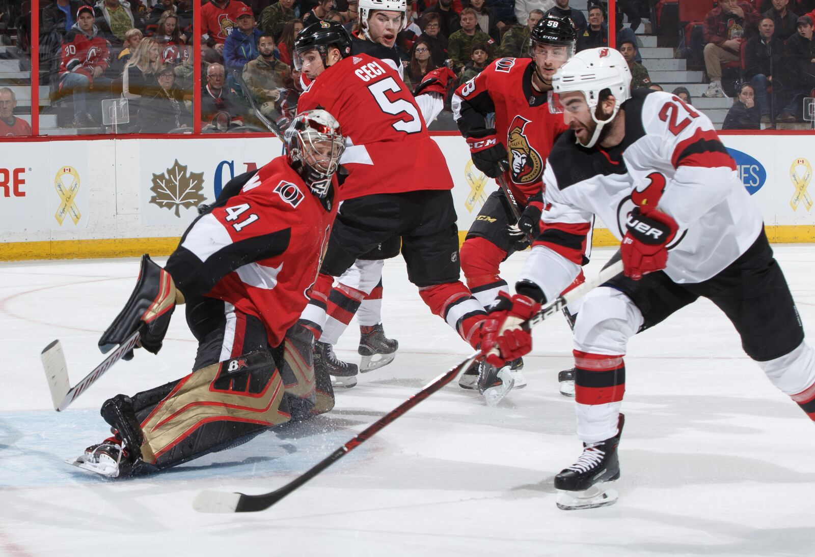 New Jersey Devils Lose To Ottawa Senators After Another Strong Start