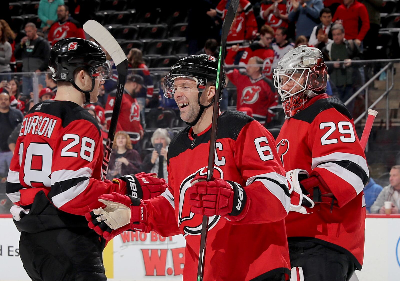 New Jersey Devils Possible Line Combinations for Opening Night