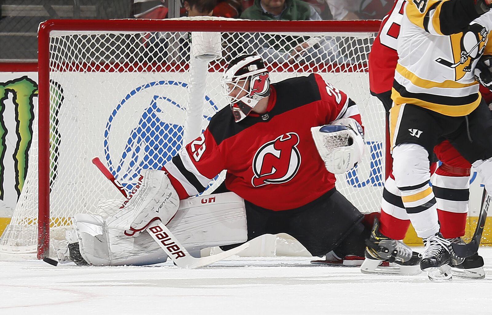 Devils: MacKenzie Blackwood Shines In Win Over Penguins